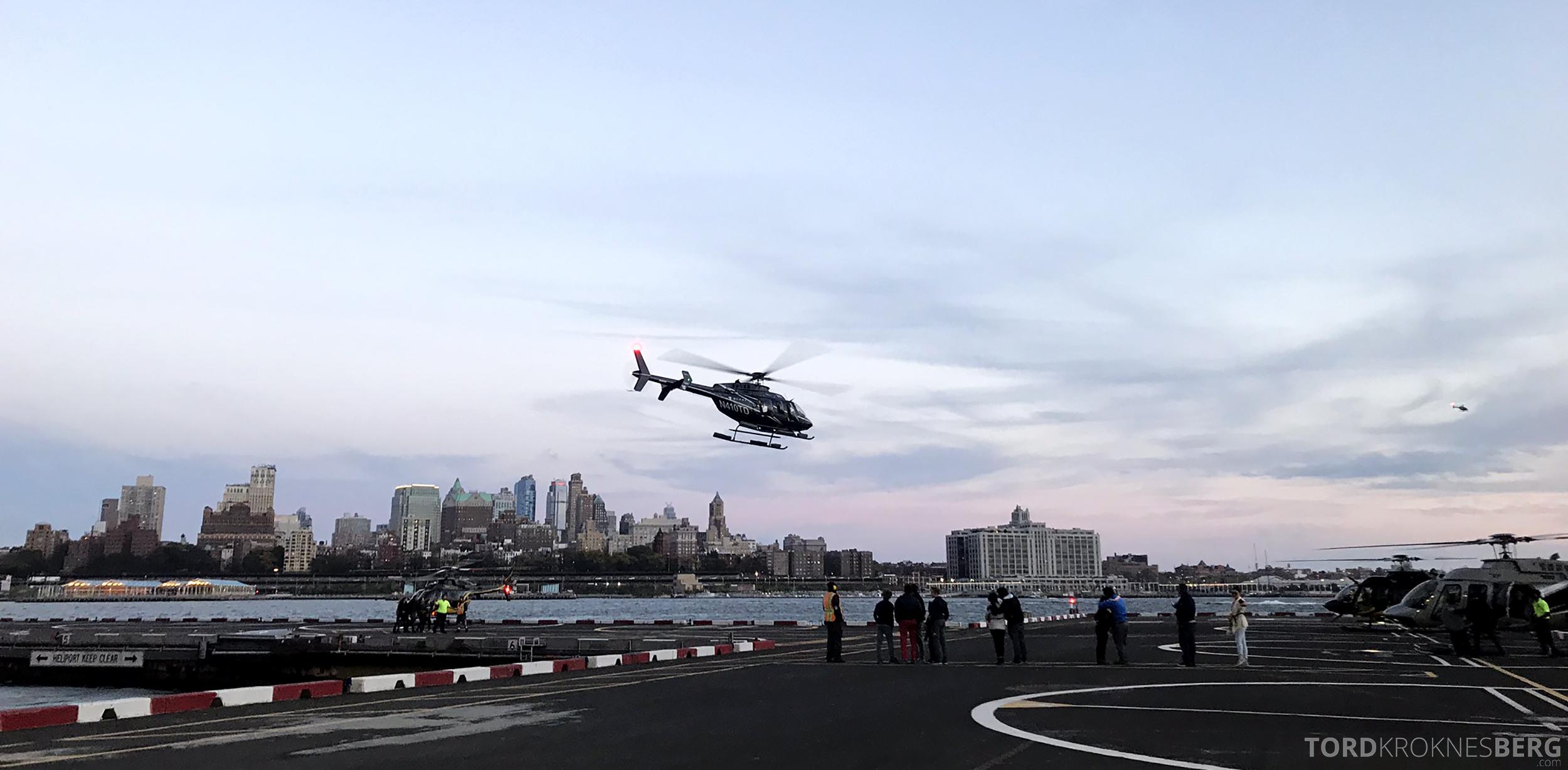 Helikopter New York i luften