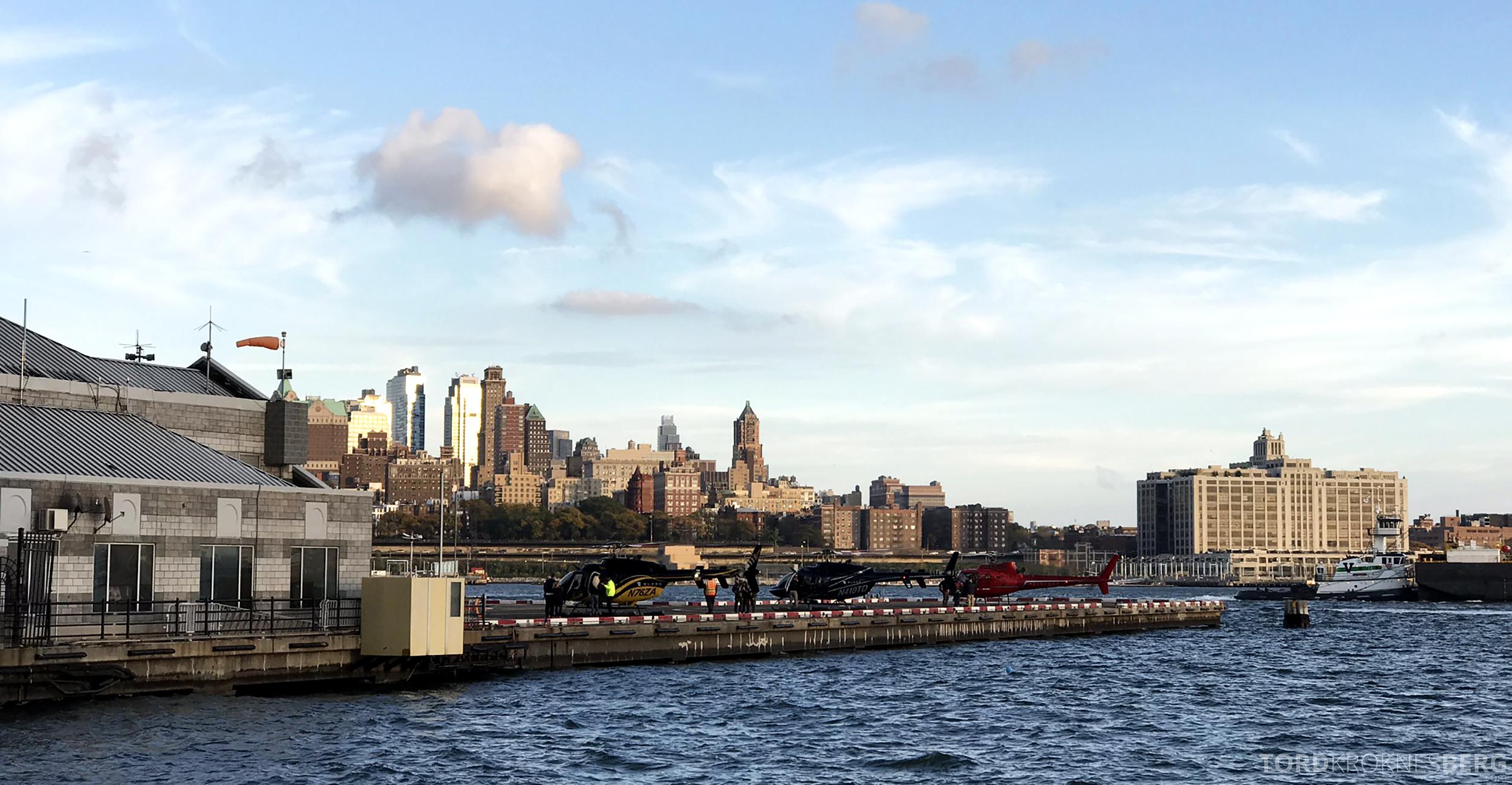 Helikopter New York plattform