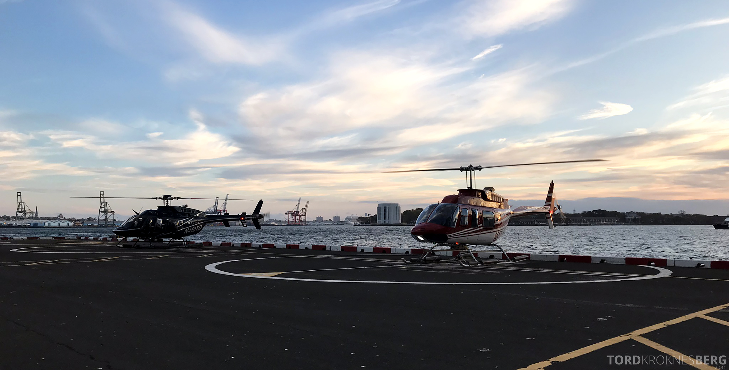 Helikopter New York takeoff