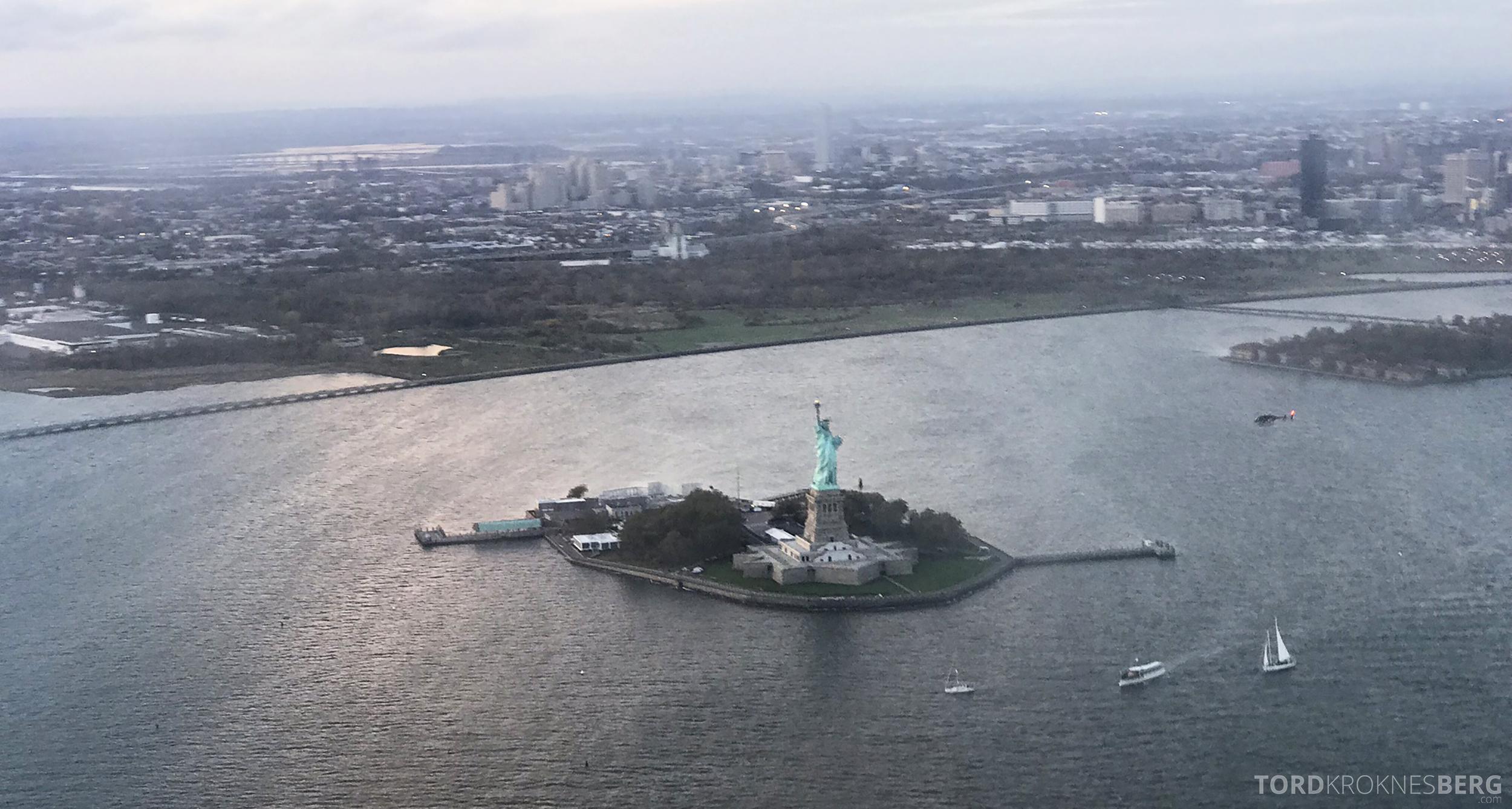 Helikopter New York frihetsgudinnen