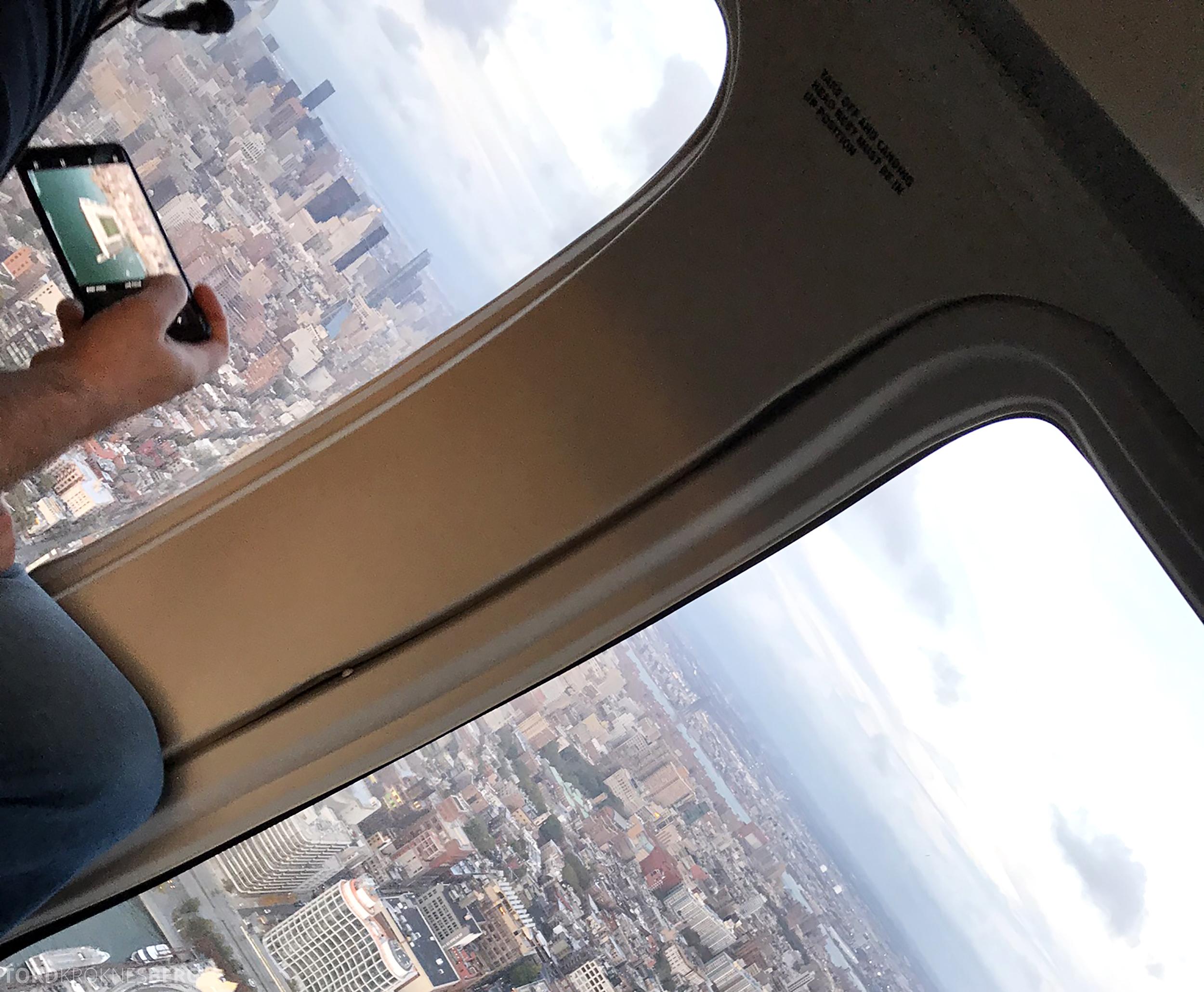 Helikopter New York utsikt