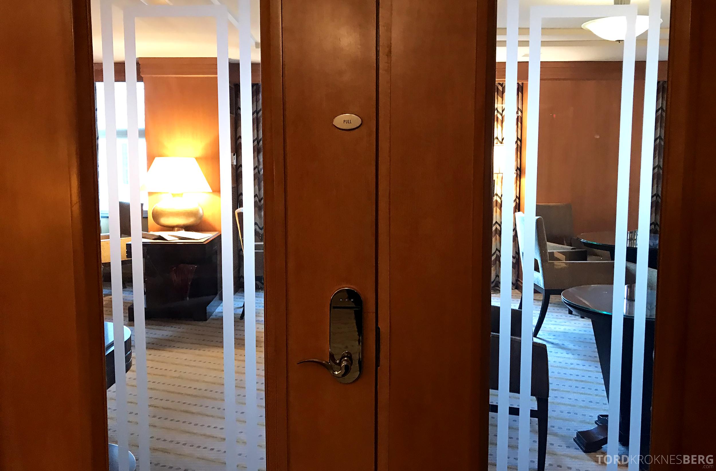 Ritz-Carlton New York Club Lounge inngang