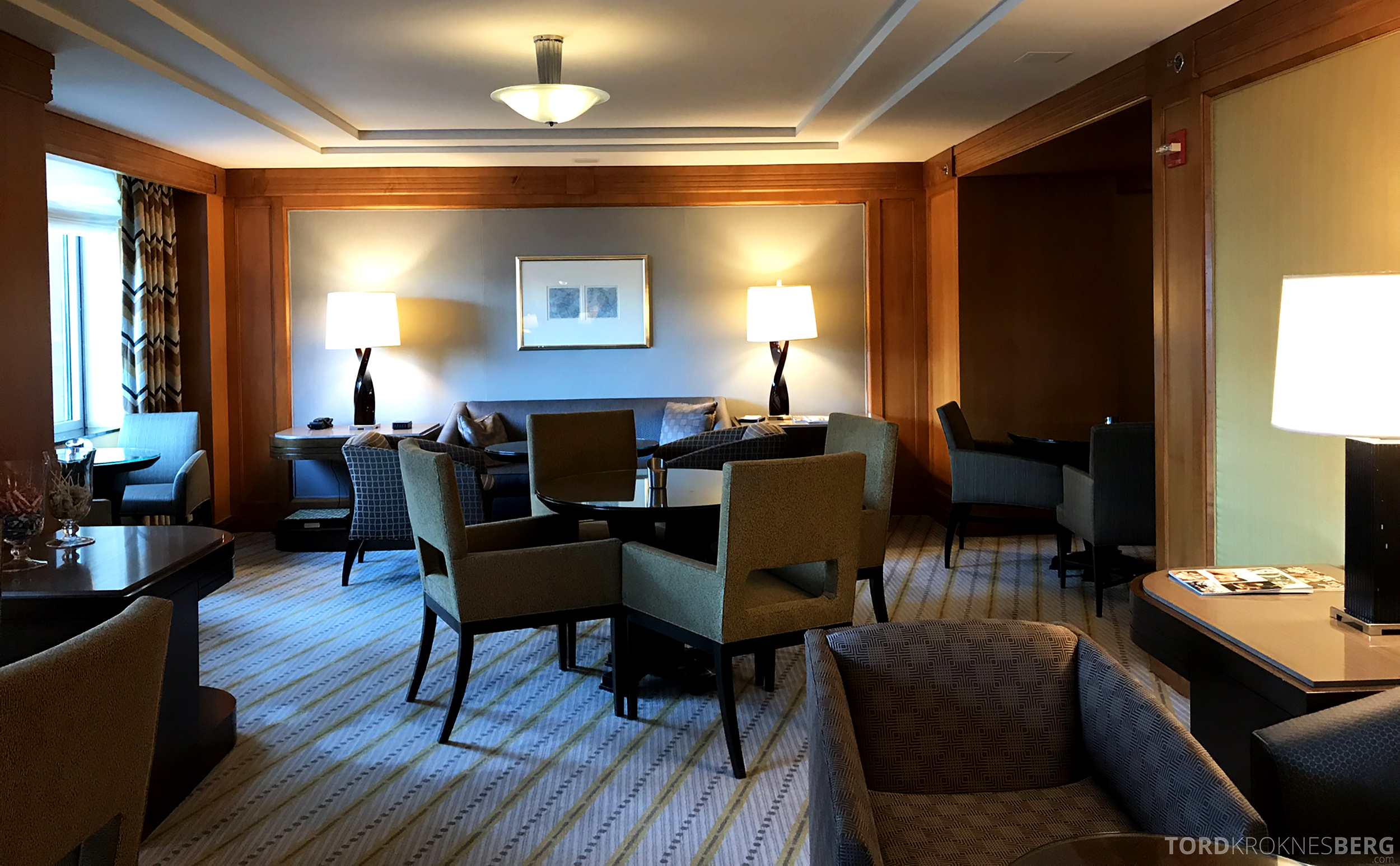 Ritz-Carlton New York Club Lounge interiør