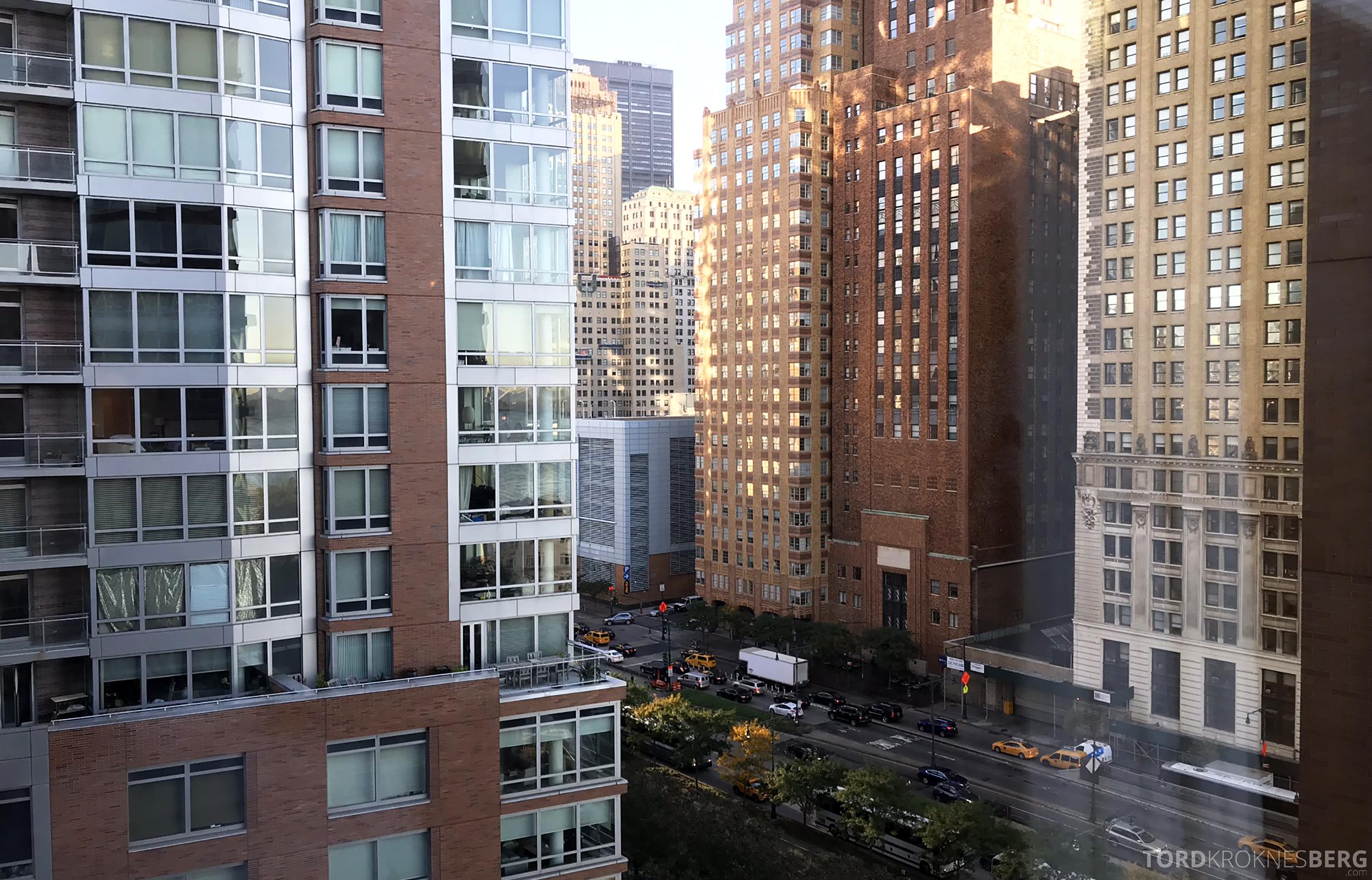 Ritz-Carlton New York Club Lounge utsikt