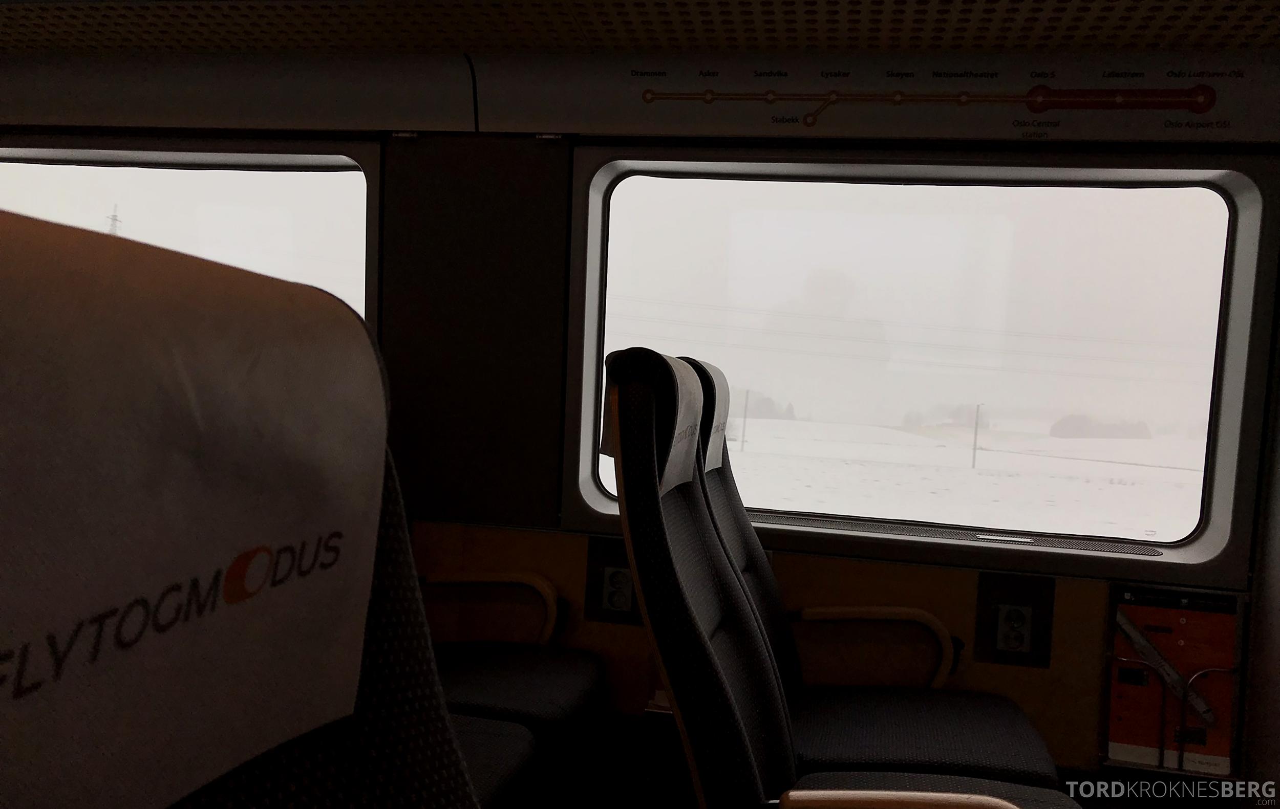 SAS Plus Oslo Stockholm Flytoget
