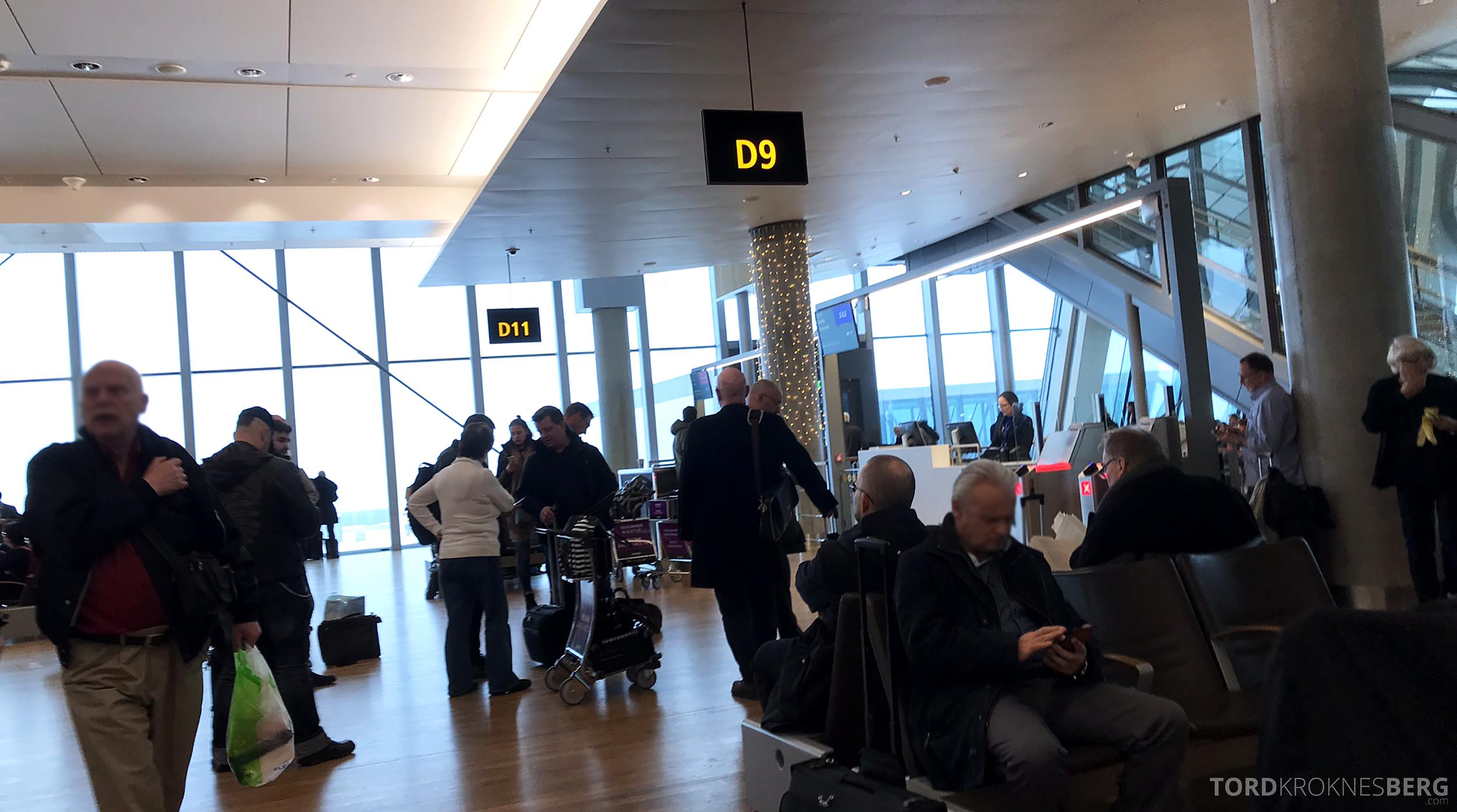 SAS Plus Oslo Stockholm gate