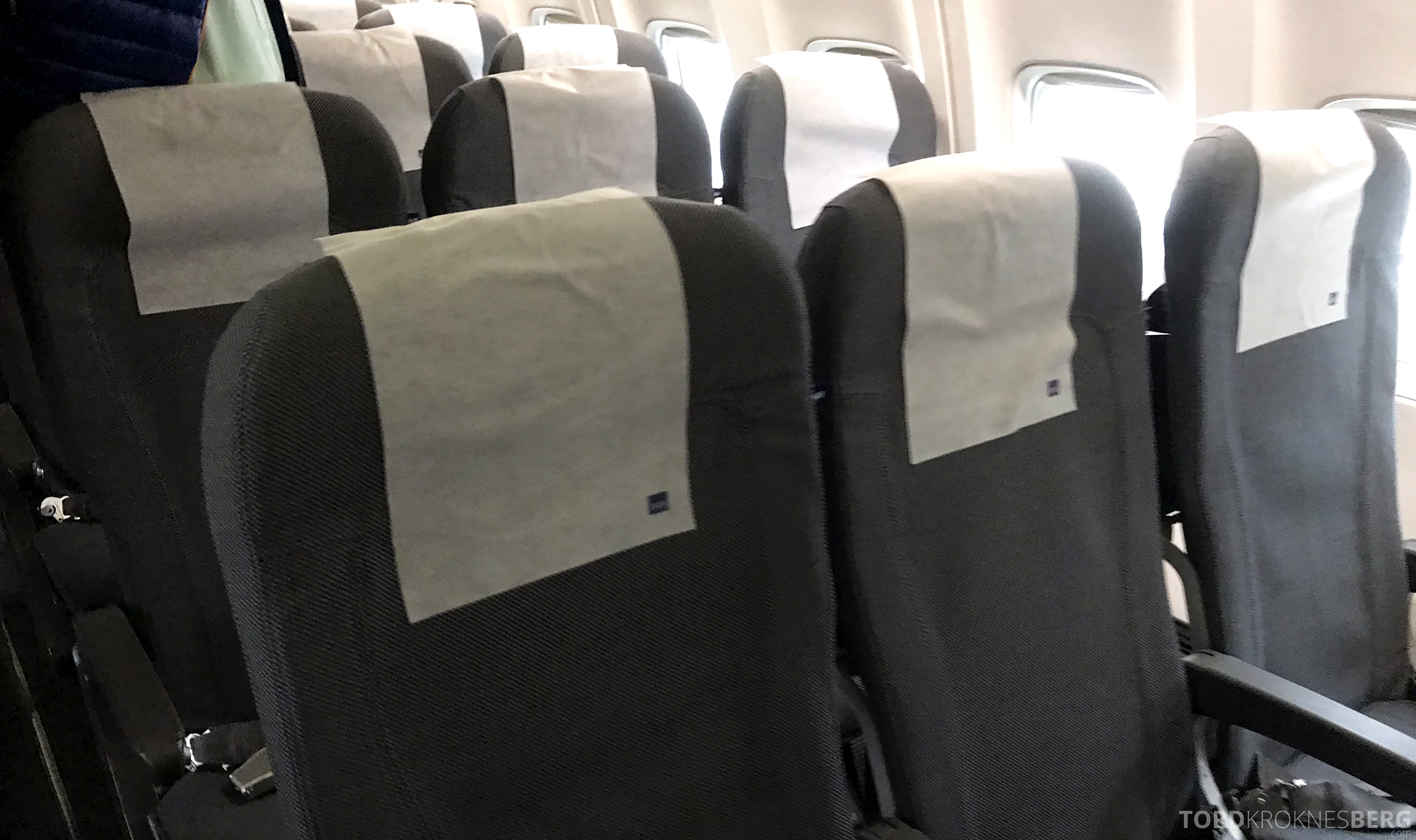 SAS Plus Oslo Stockholm kabin
