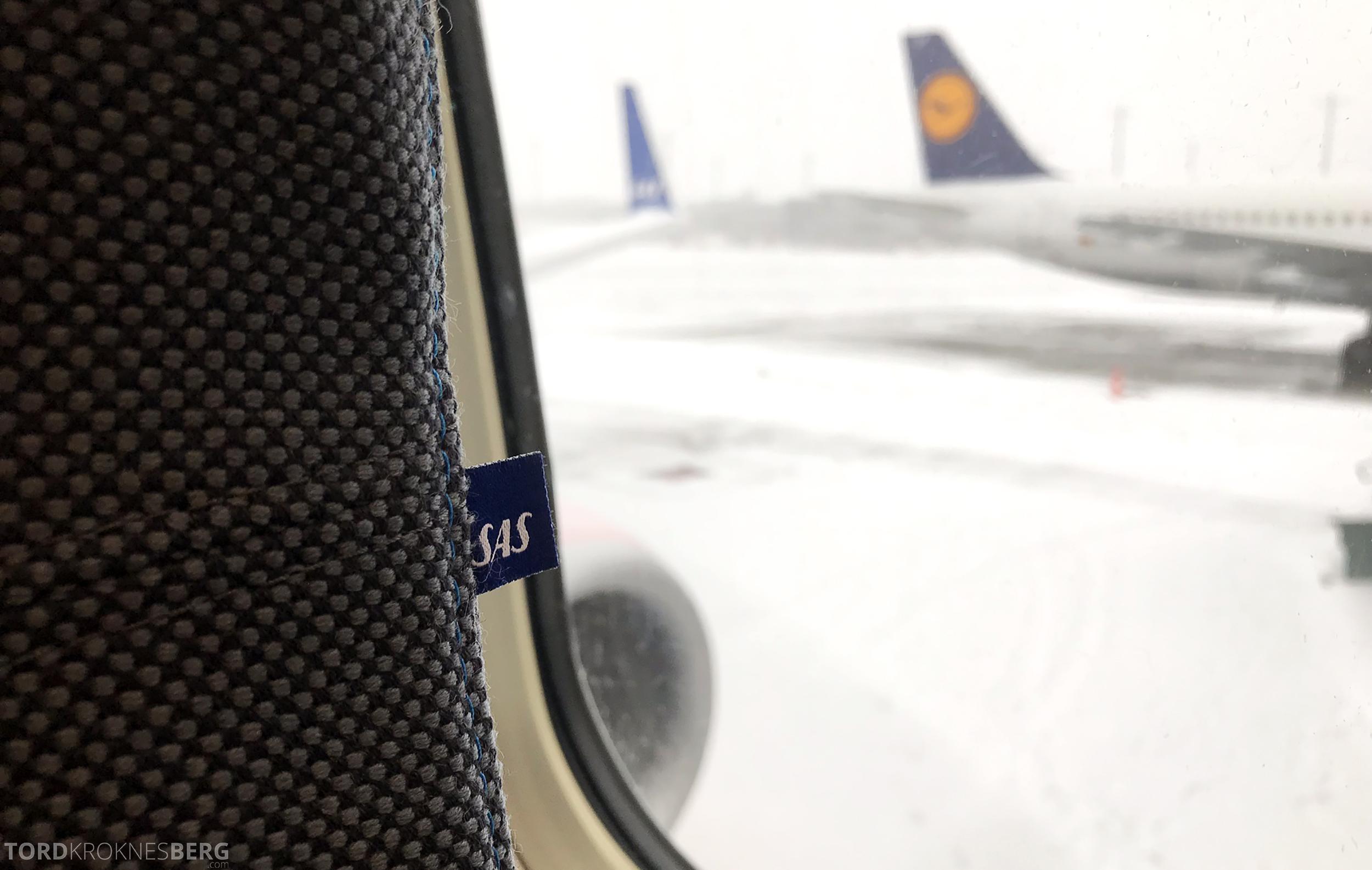SAS Plus Oslo Stockholm sne