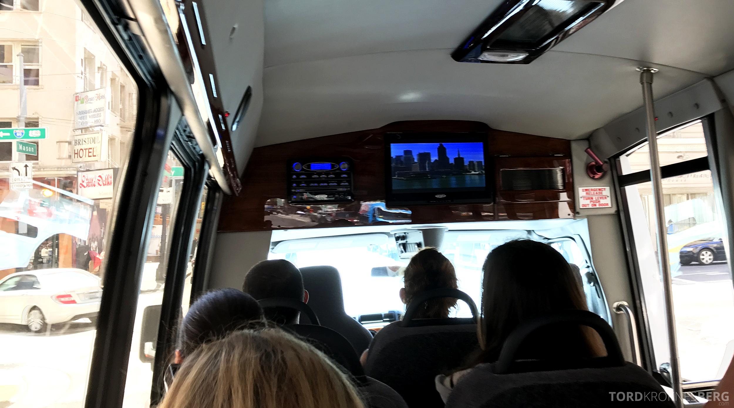 San Francisco Helicopter Tour buss