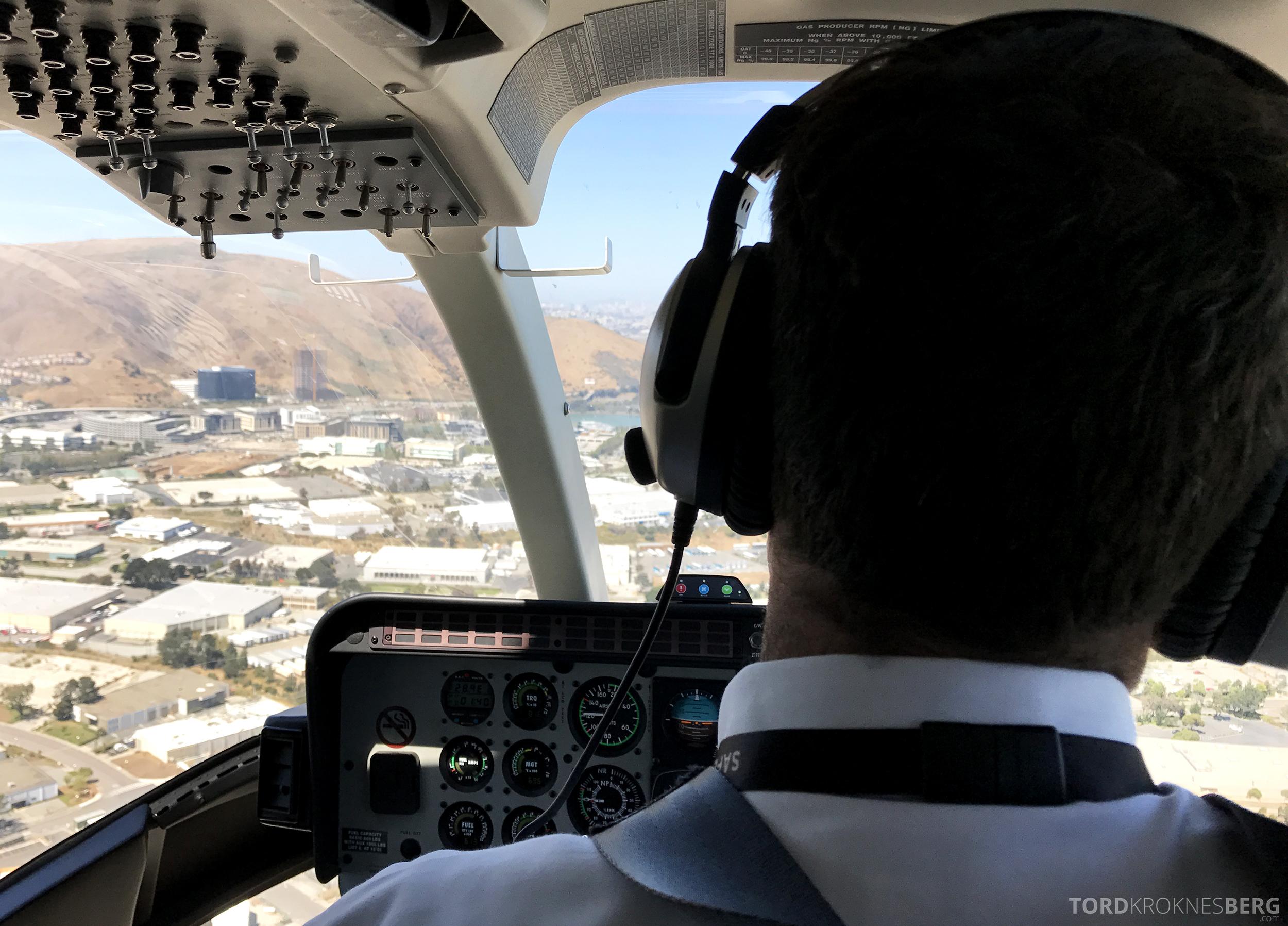 San Francisco Helicopter Tour ombord