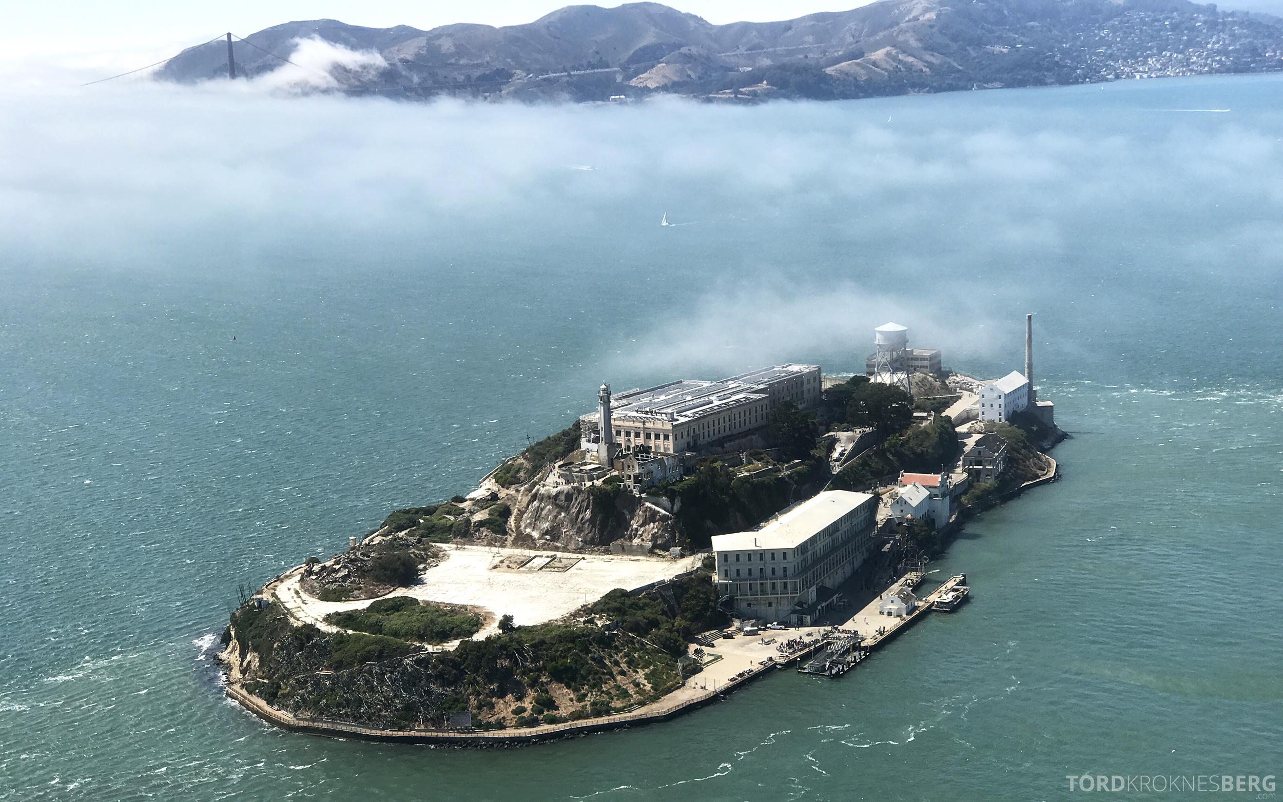 San Francisco Helicopter Tour Alcatraz