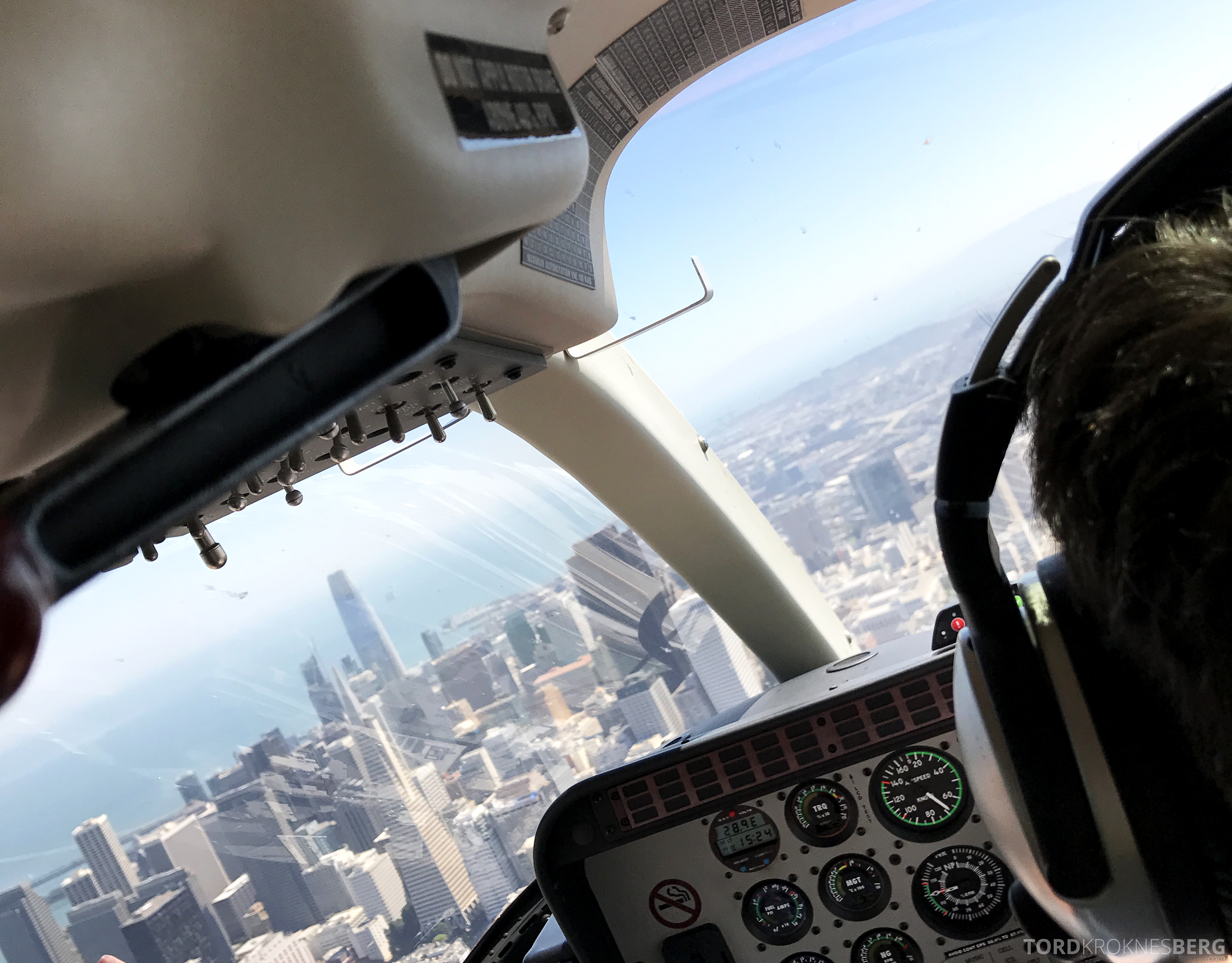 San Francisco Helicopter Tour skyskraper