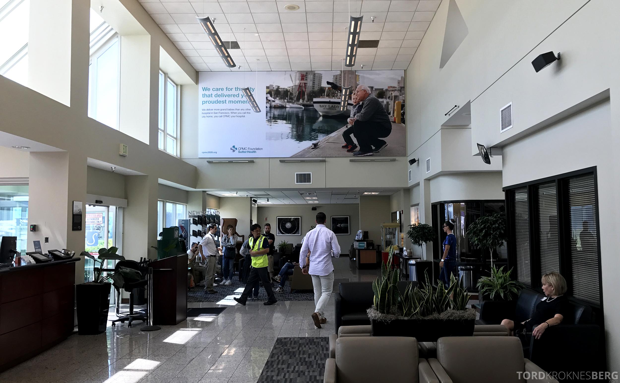 San Francisco Helicopter Tour Executive Terminal fasilitet