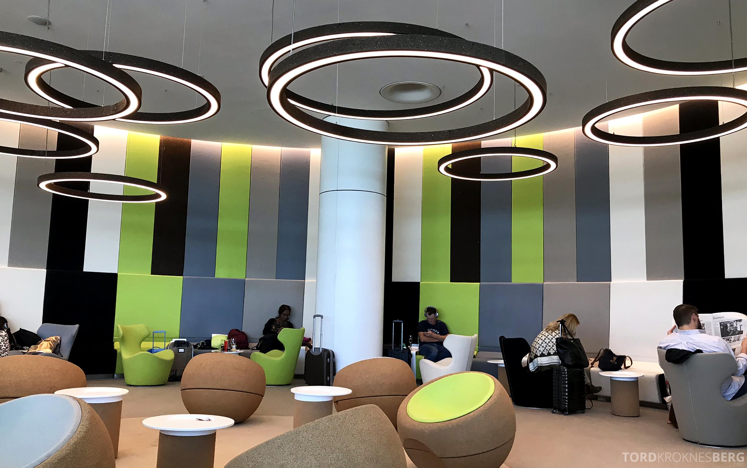 TAP Lounge Lisbon sitteplasser