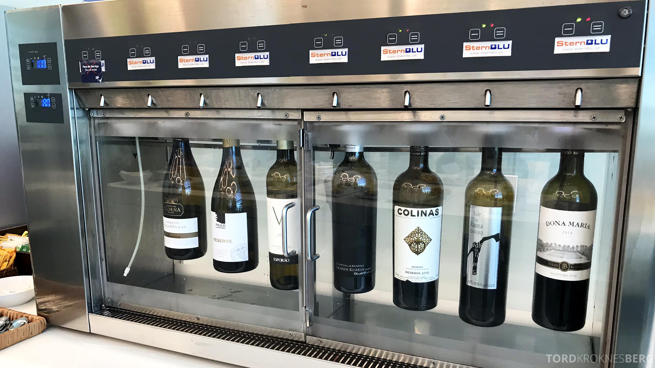 TAP Lounge Lisbon vin