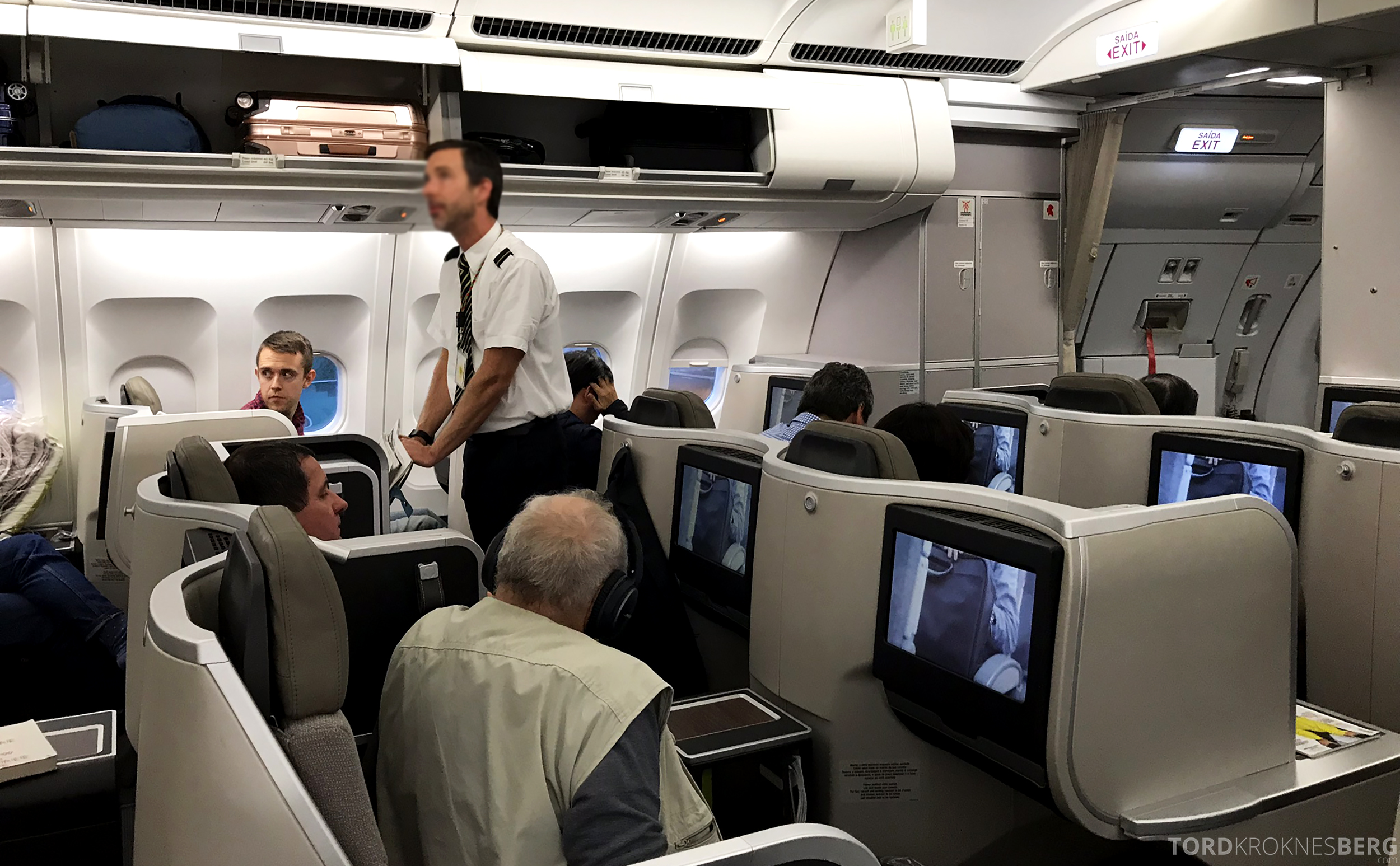 TAP Portugal Business Class Lisbon New York aviser