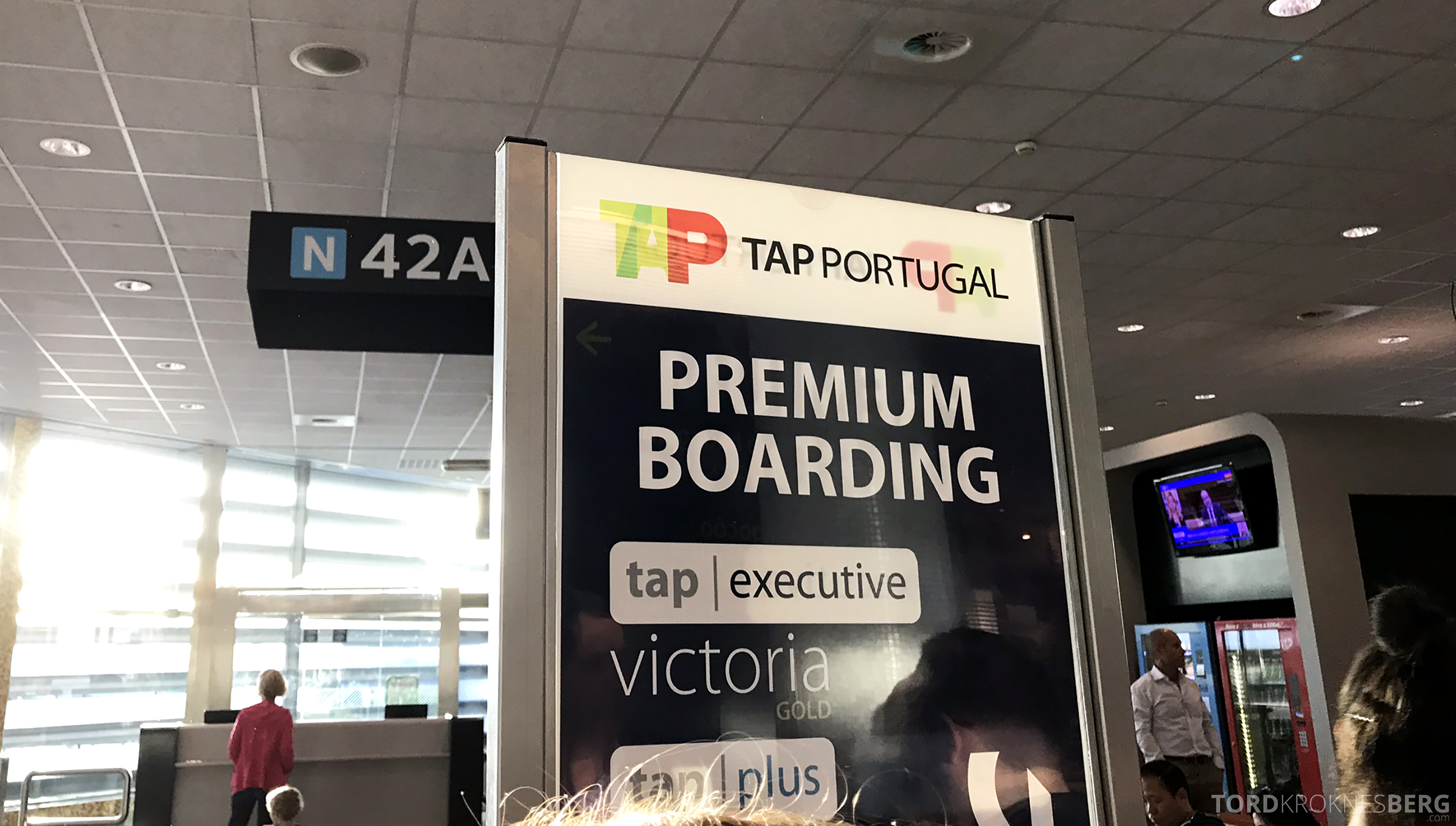 TAP Portugal Business Class Lisbon New York premium