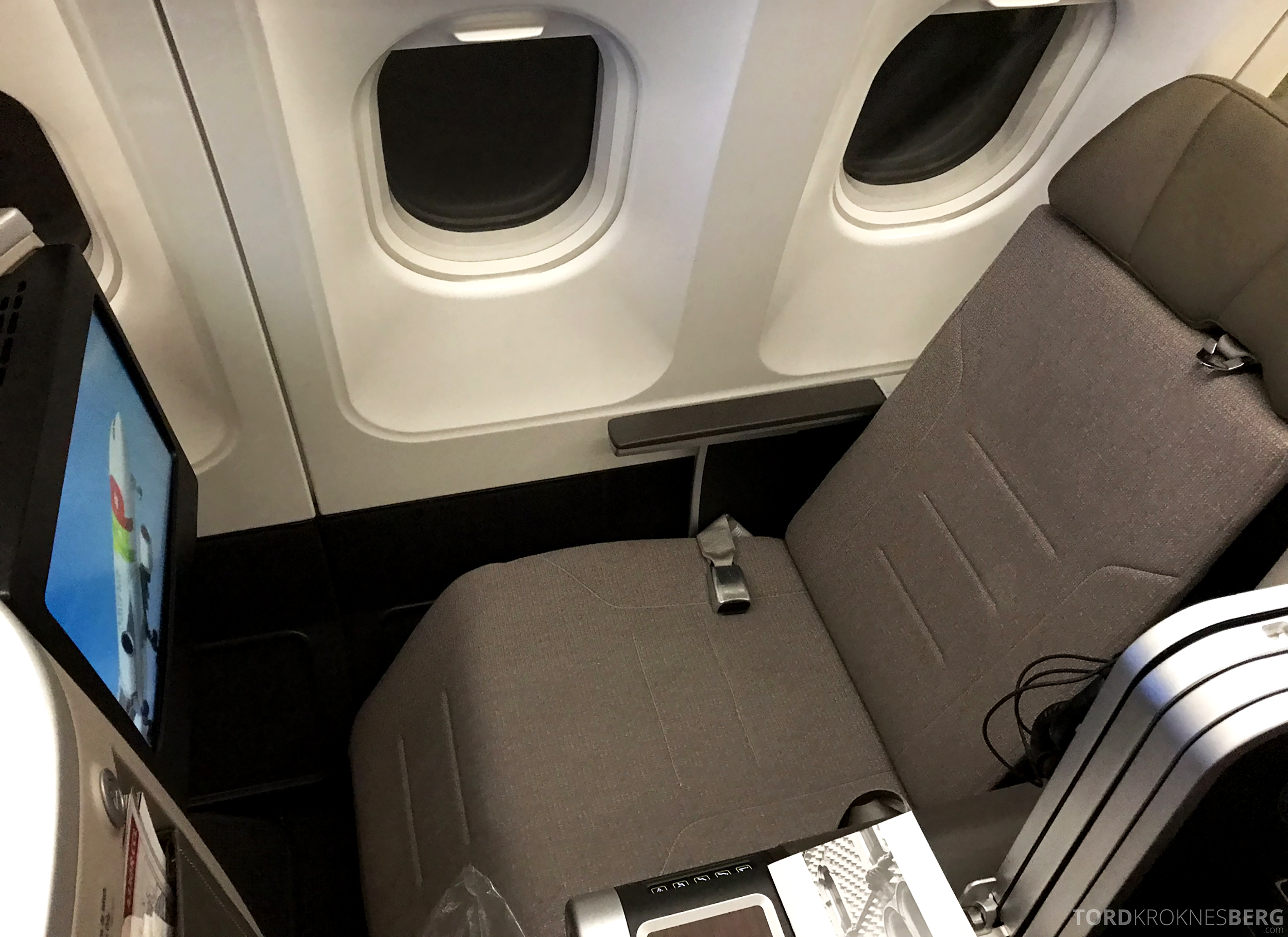 TAP Portugal Business Class Lisbon New York sete