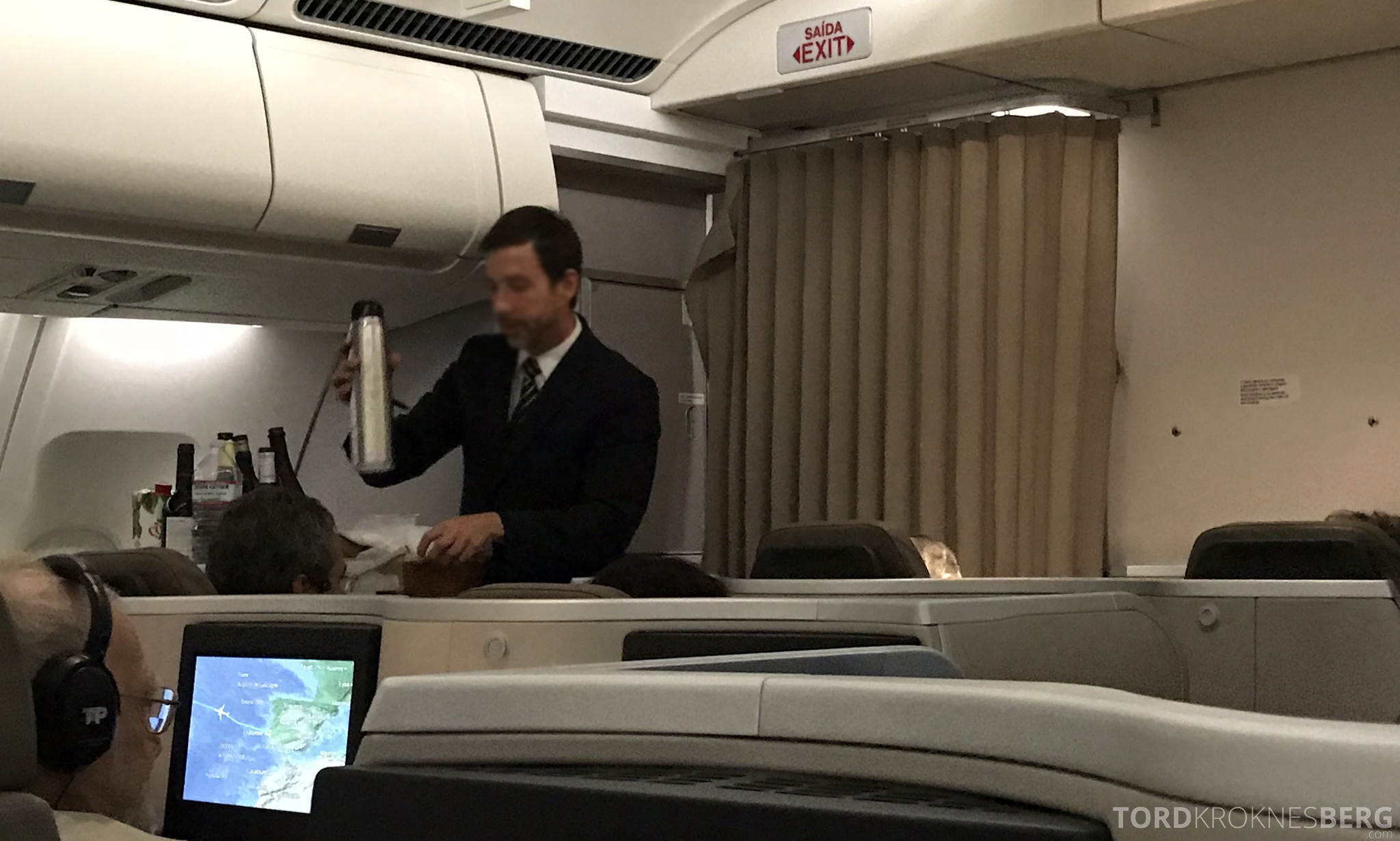 TAP Portugal Business Class Lisbon New York termos