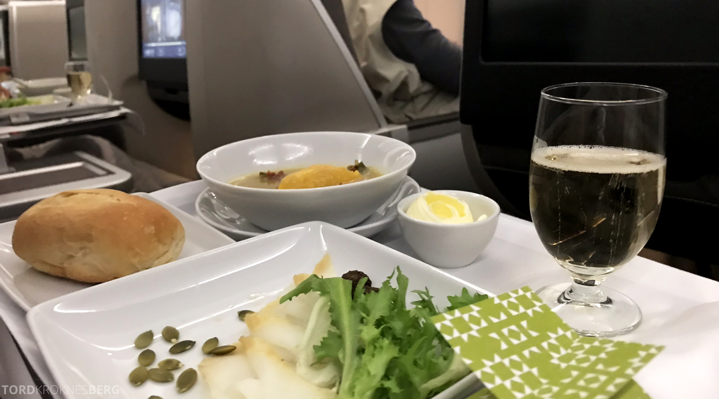 TAP Portugal Business Class Lisbon New York forrett