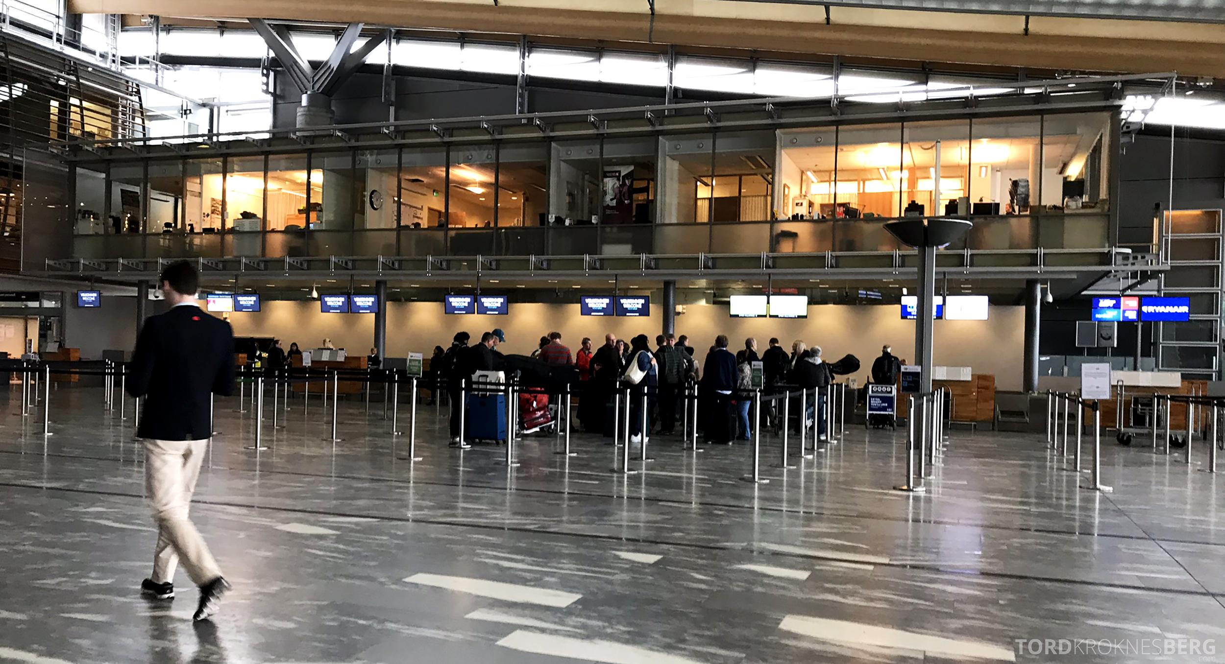 TAP Portugal Oslo Lisboa innsjekk