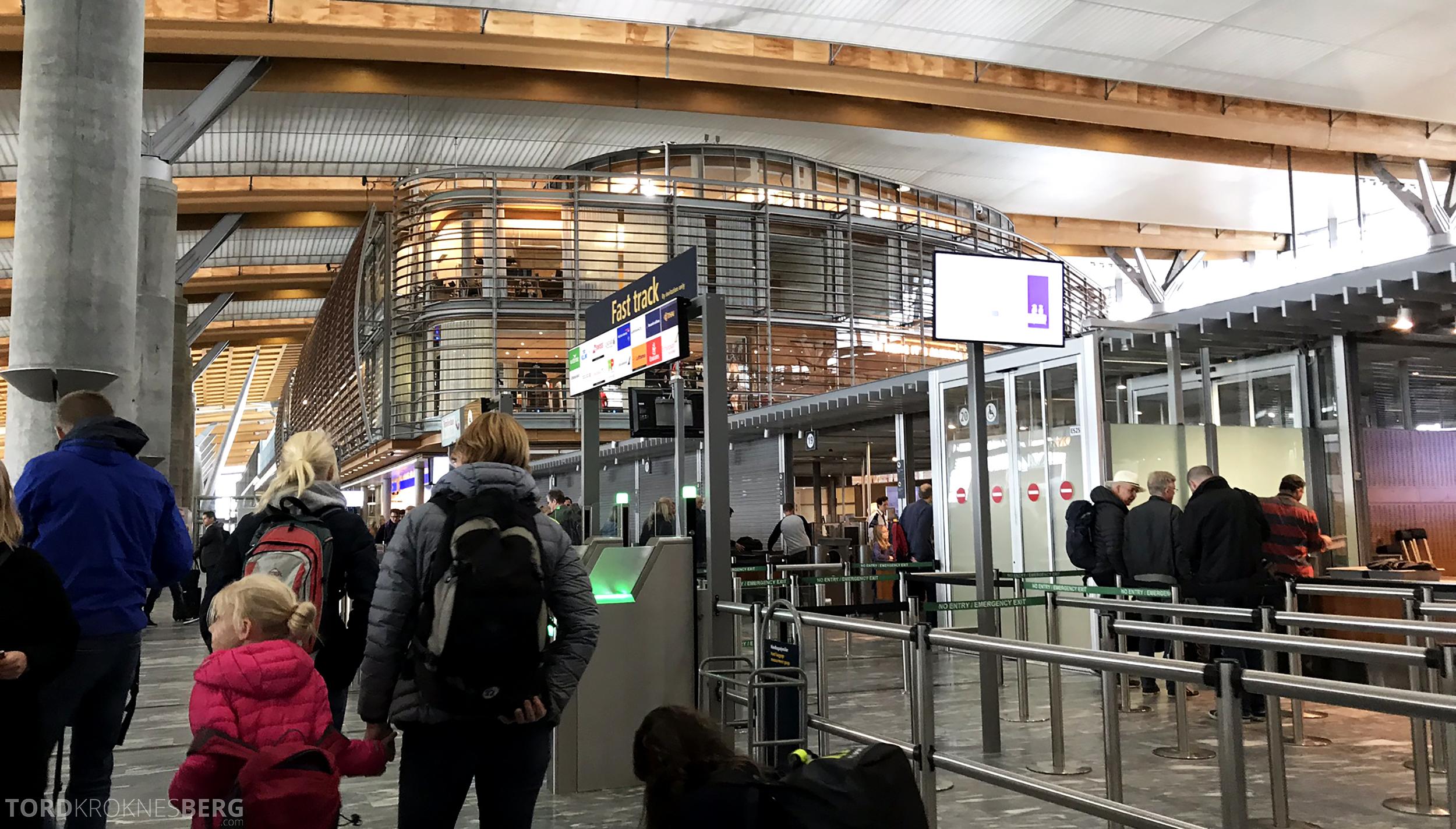 TAP Portugal Oslo Lisboa fast track