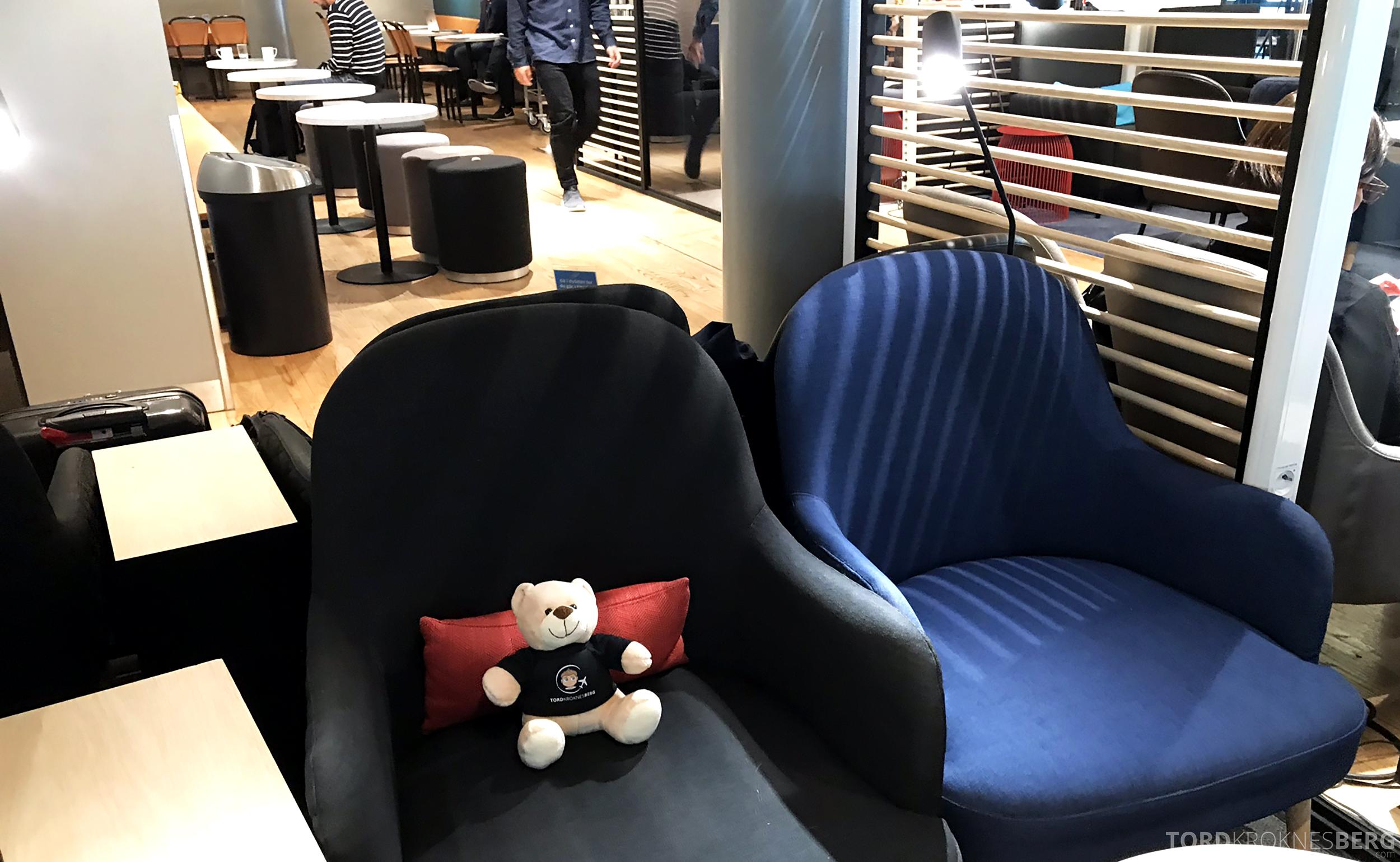 TAP Portugal Oslo Lisboa lounge