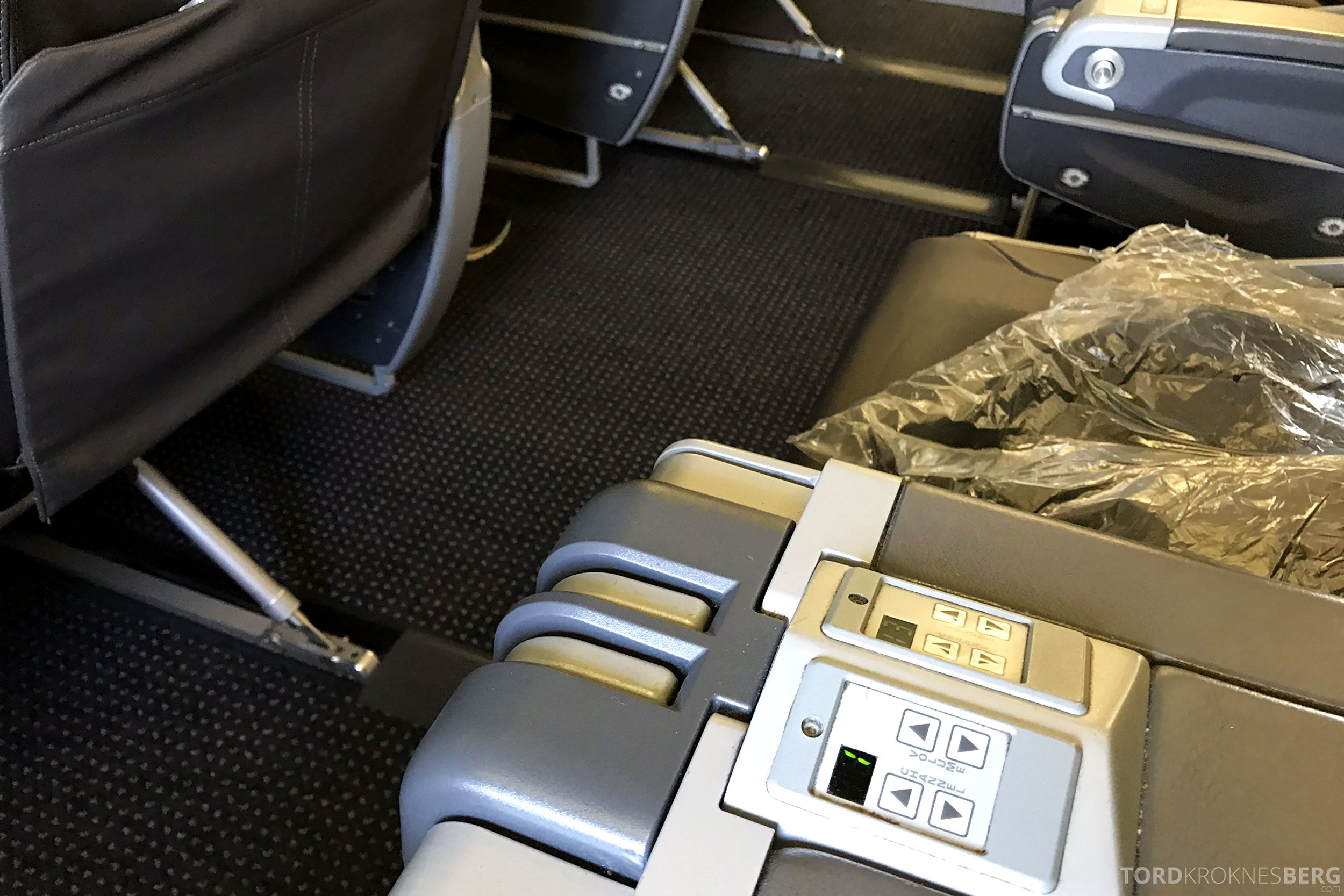 American Airlines First Class Chicago Minneapolis foreldet sete