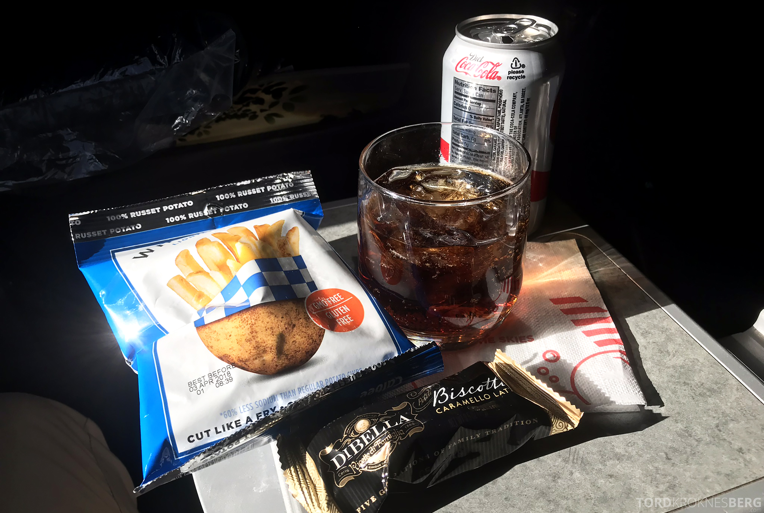 American Airlines First Class Chicago Minneapolis mat