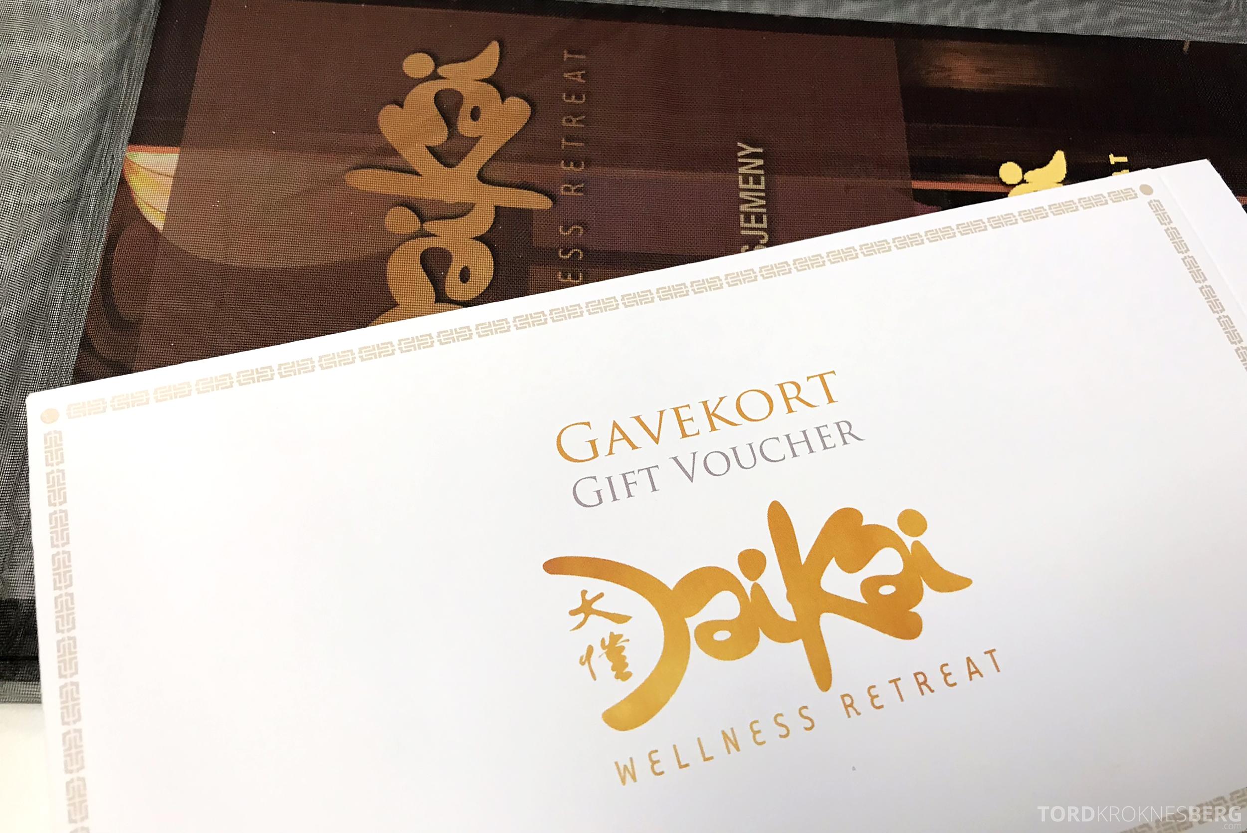 DaiKai Oslo gavekort
