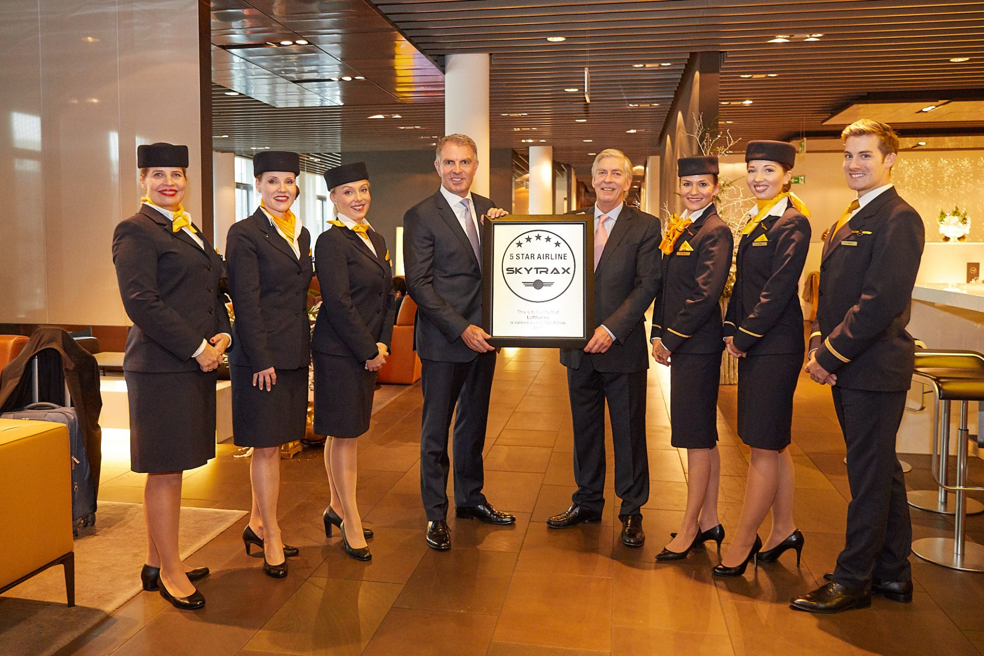 Lufthansa 5-star airline