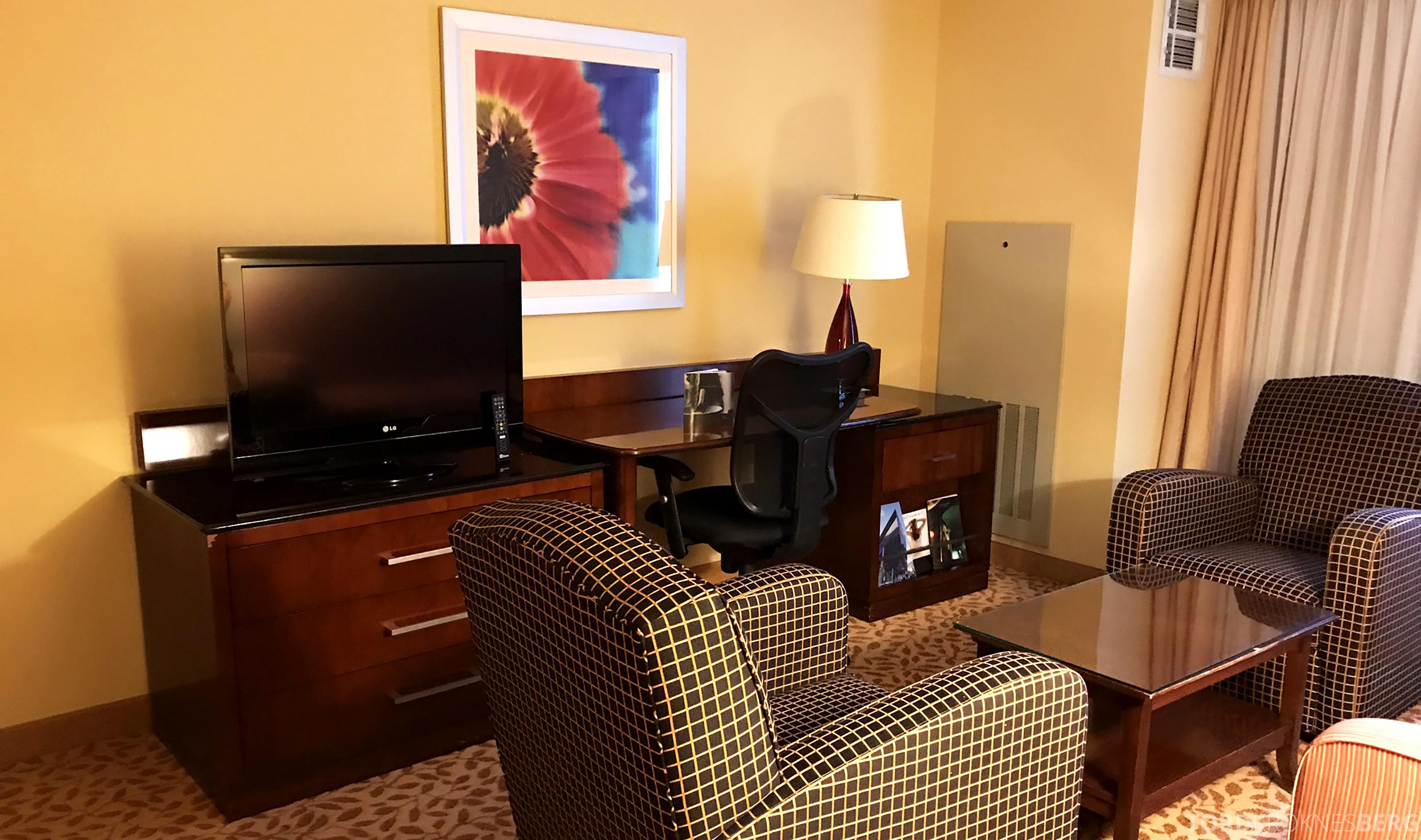 Marriott Bloomington Hotel stue