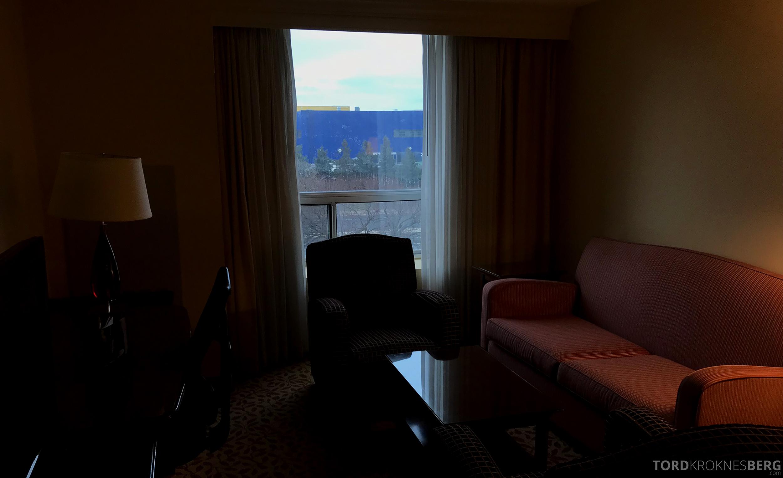 Marriott Bloomington Hotel utsikt IKEA