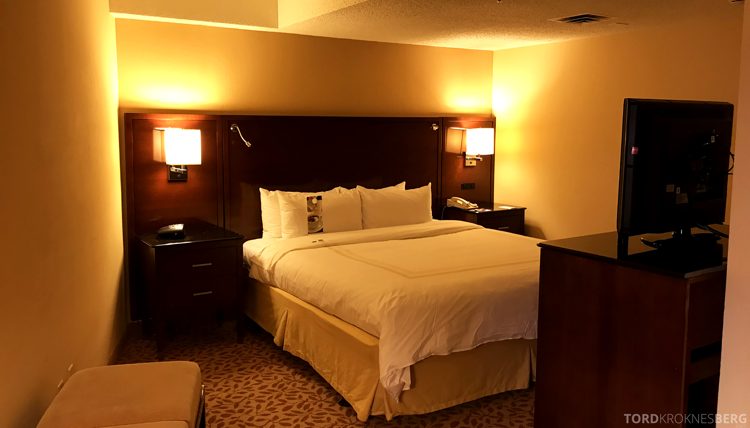 Marriott Bloomington Hotel seng