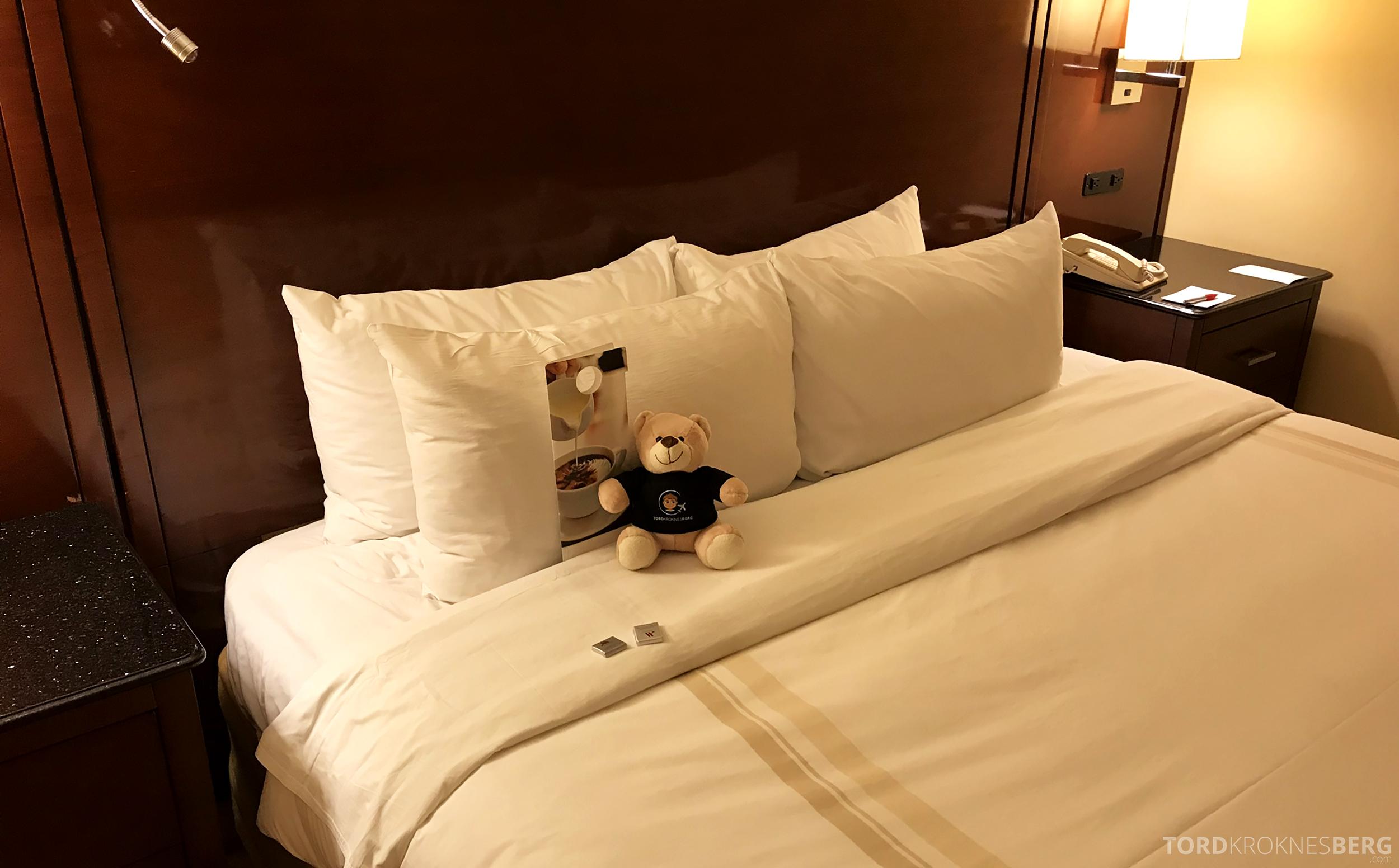 Marriott Bloomington Hotel reisefølget turndown