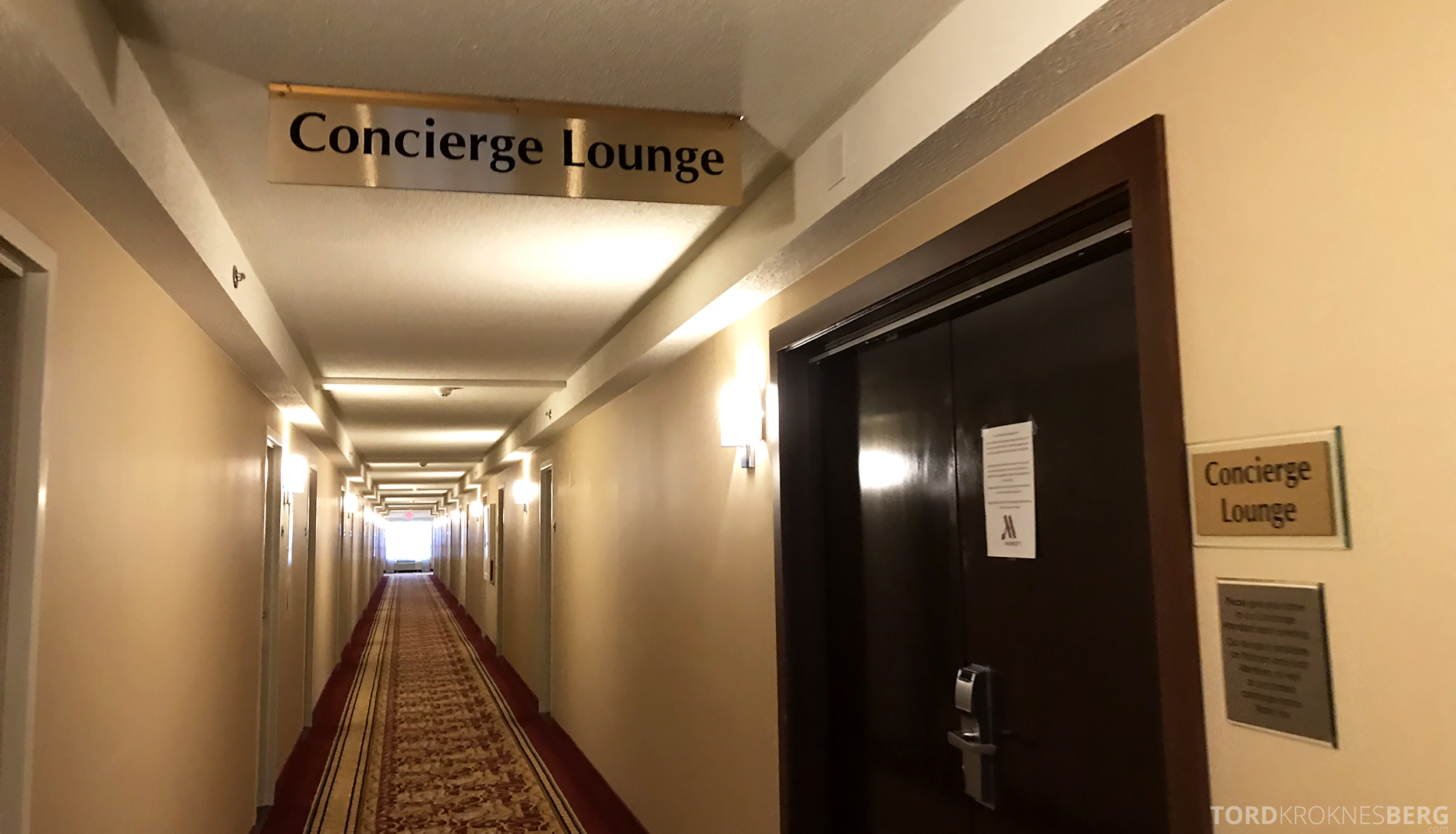 Marriott Bloomington Hotel Concierge Lounge