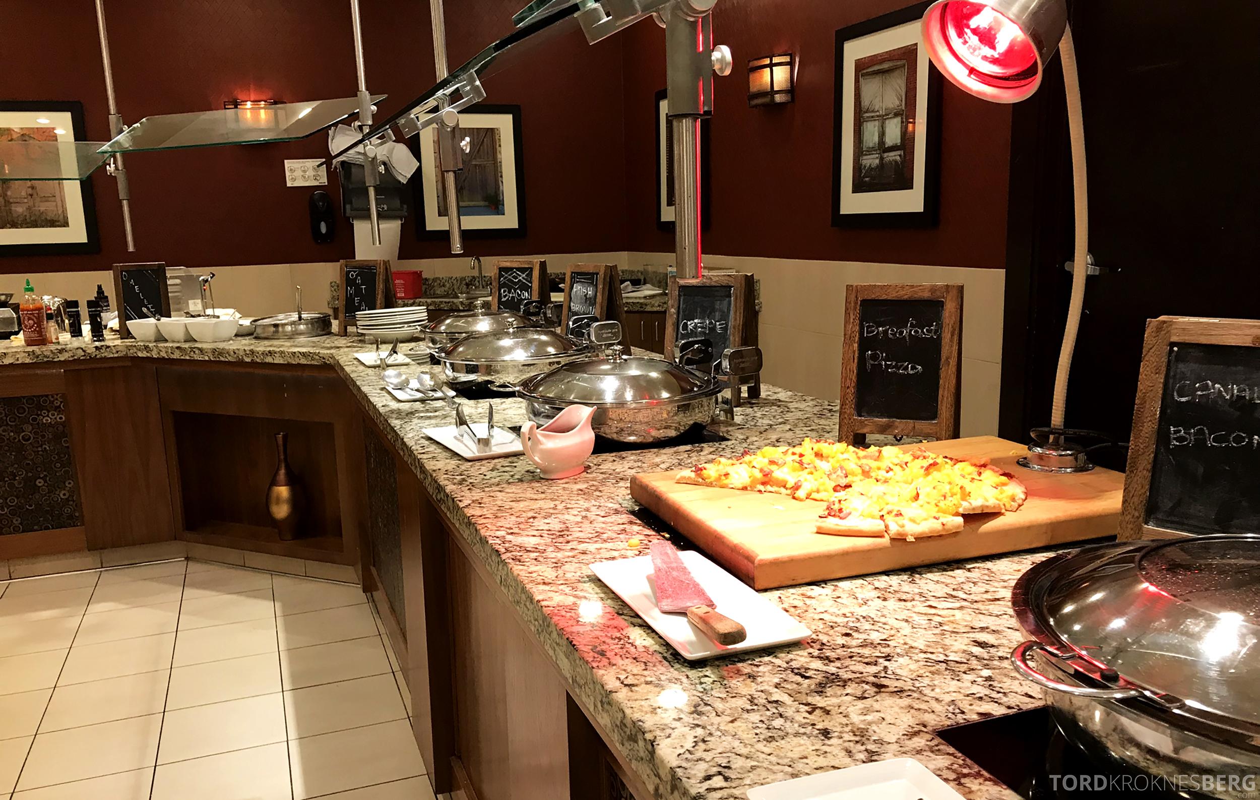 Marriott Bloomington Hotel varmmat frokost