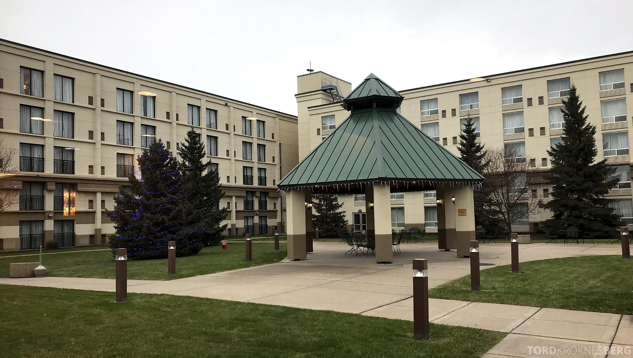 Marriott Bloomington Hotel utendørs