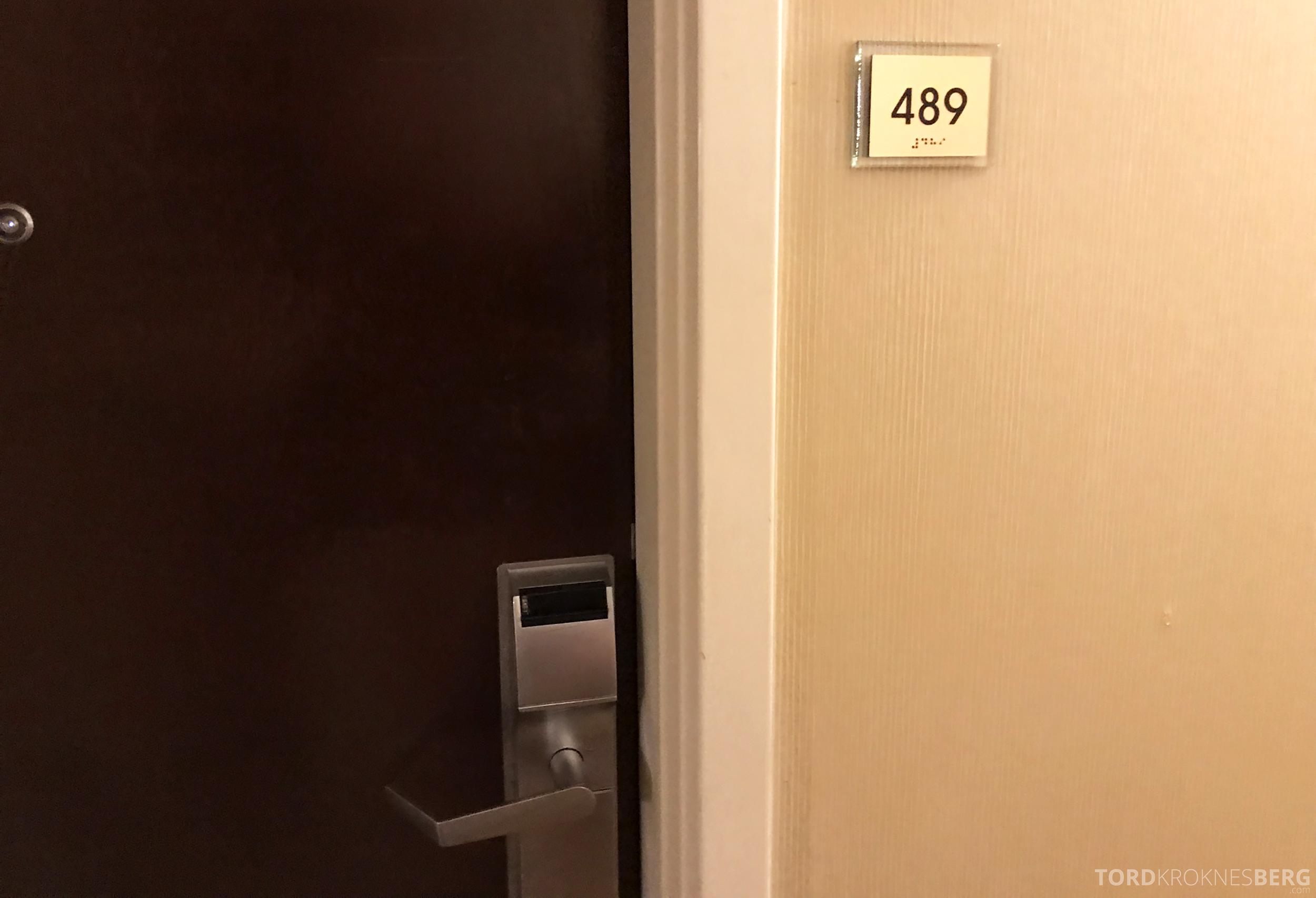 Marriott Bloomington Hotel suite
