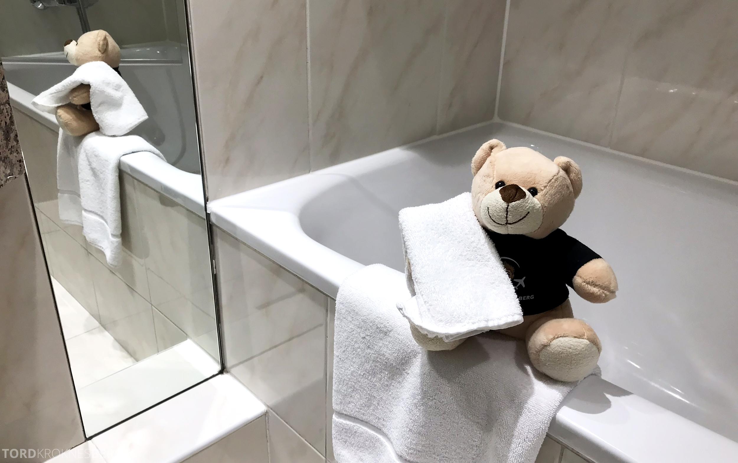 Marriott Paris Rive Gauche reisefølget bad