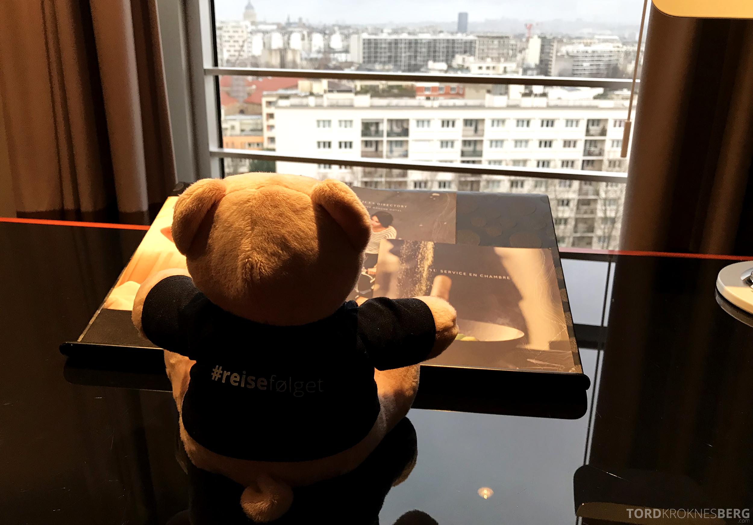 Marriott Paris Rive Gauche reisefølget utsikt