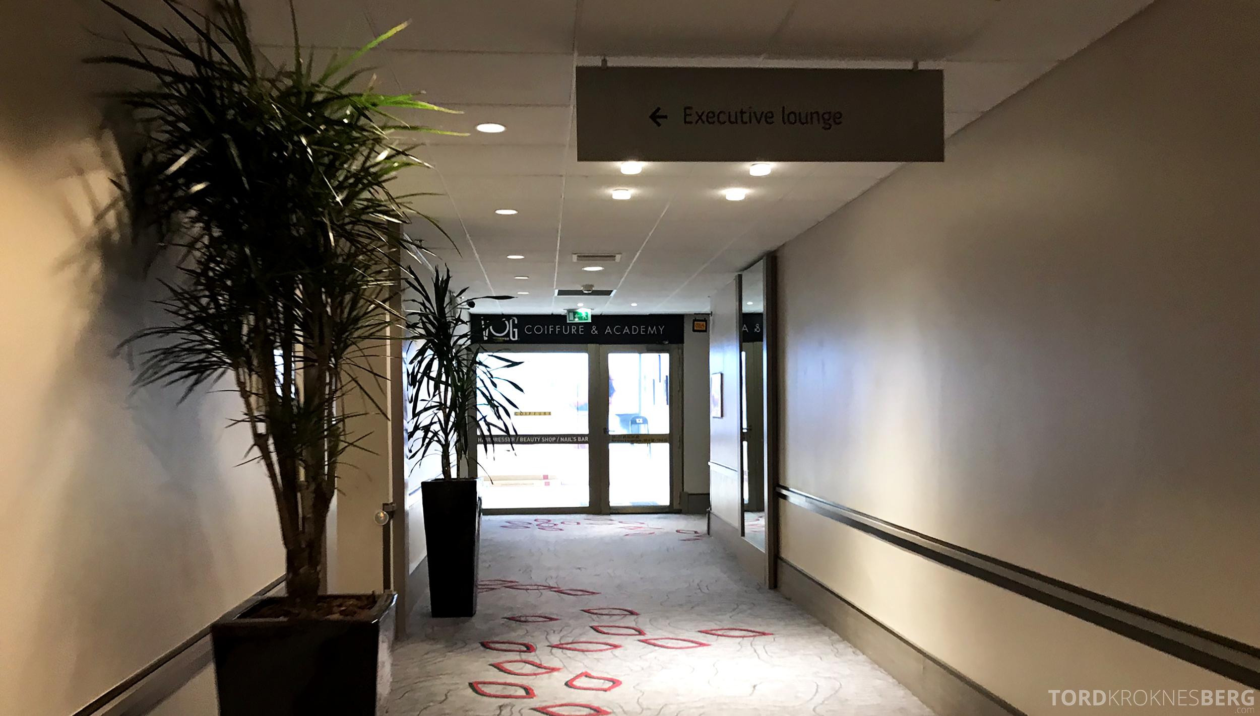 Marriott Paris Rive Gauche Executive Lounge inngang