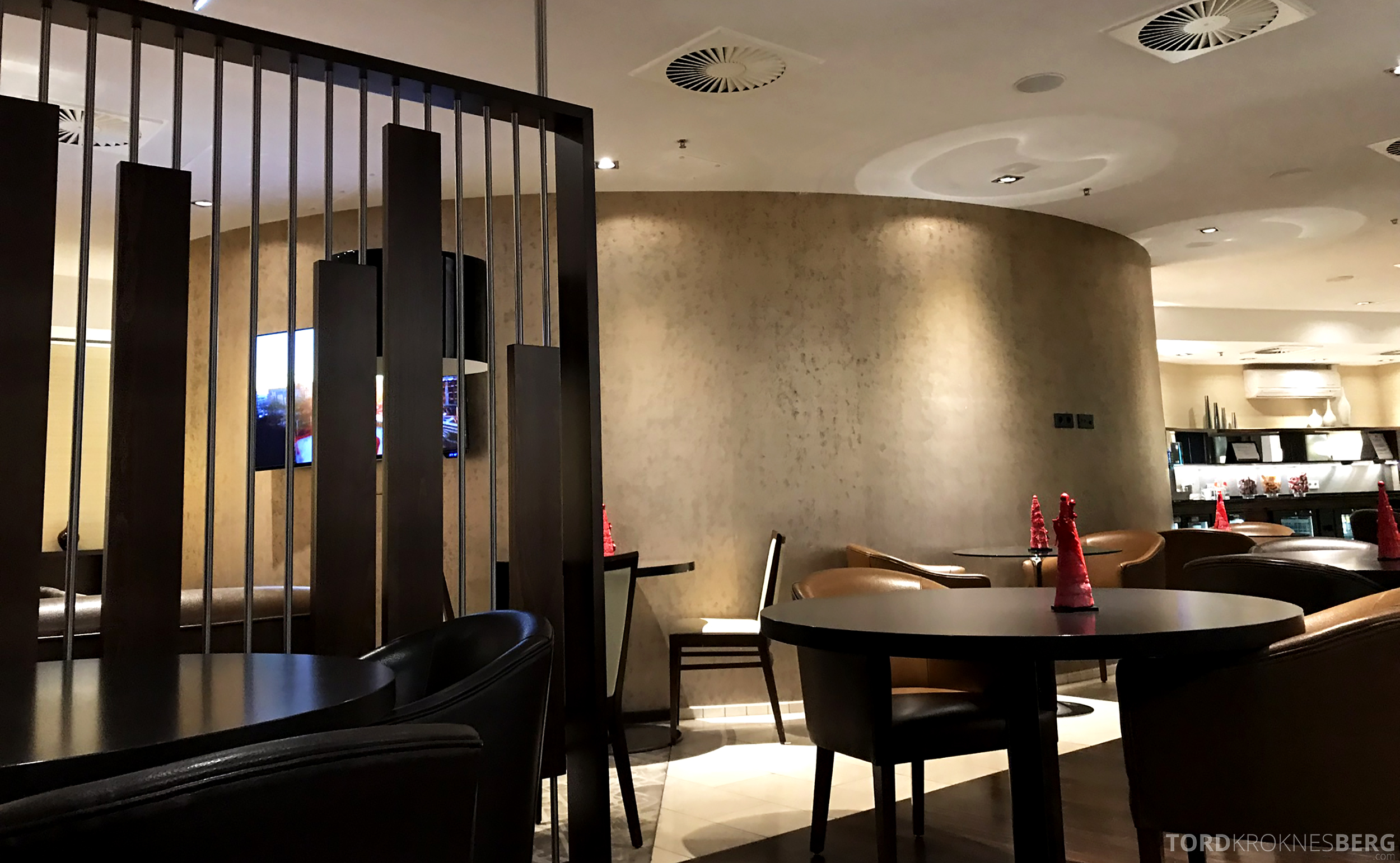 Marriott Paris Rive Gauche Executive Lounge sitteplasser