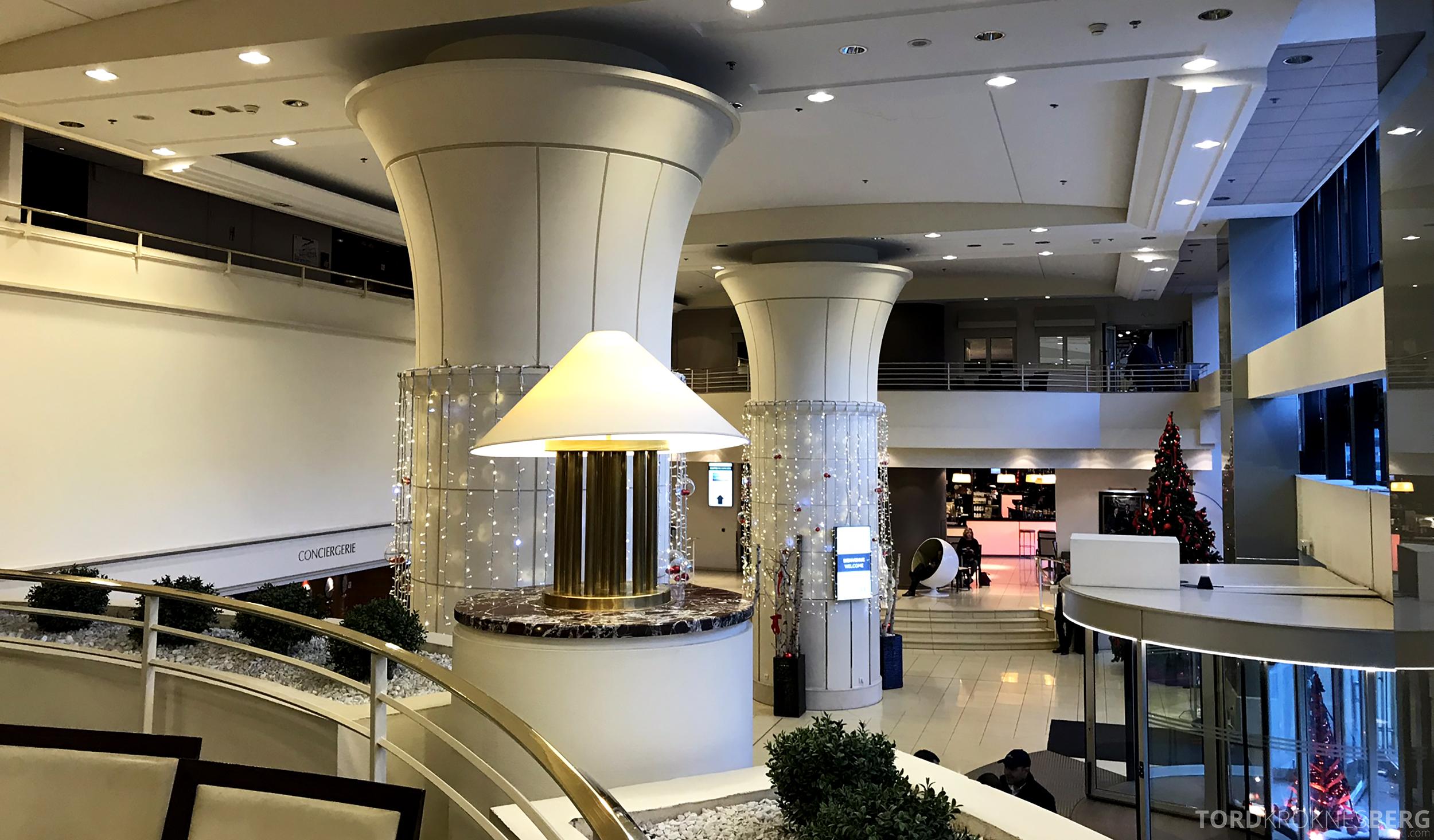 Marriott Paris Rive Gauche lobby