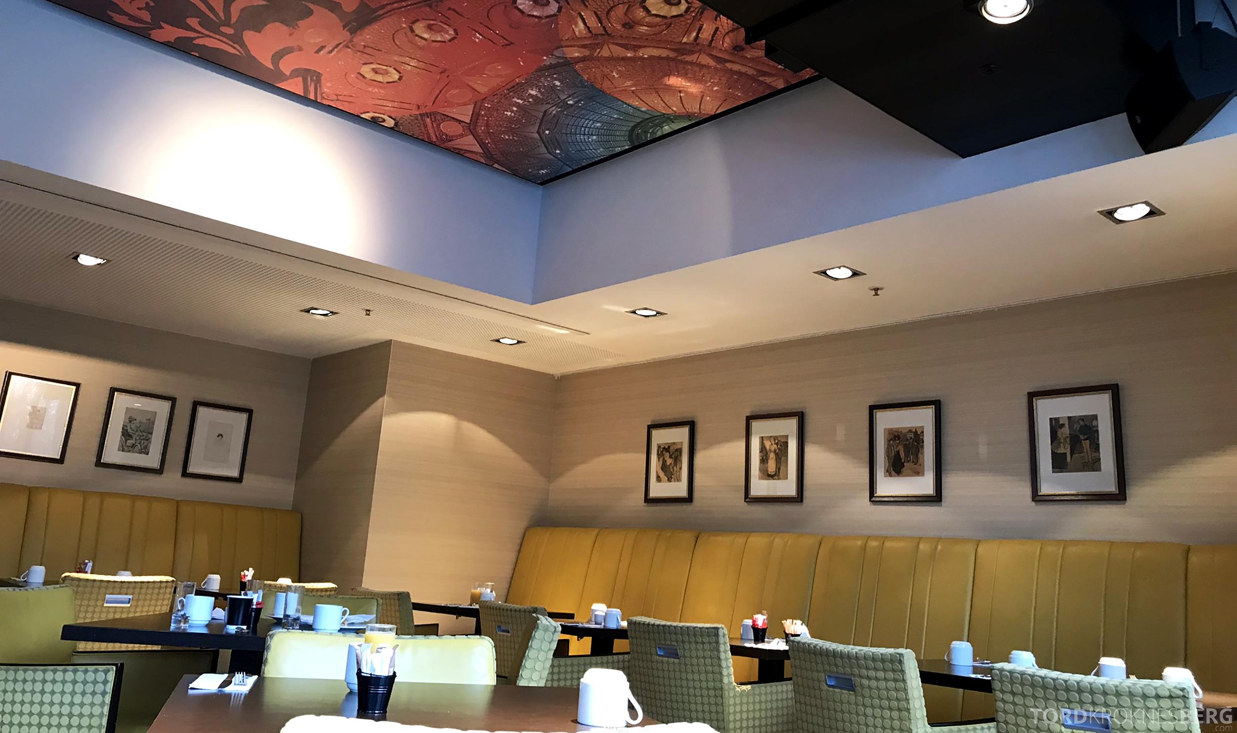 Marriott Paris Rive Gauche frokostlokale