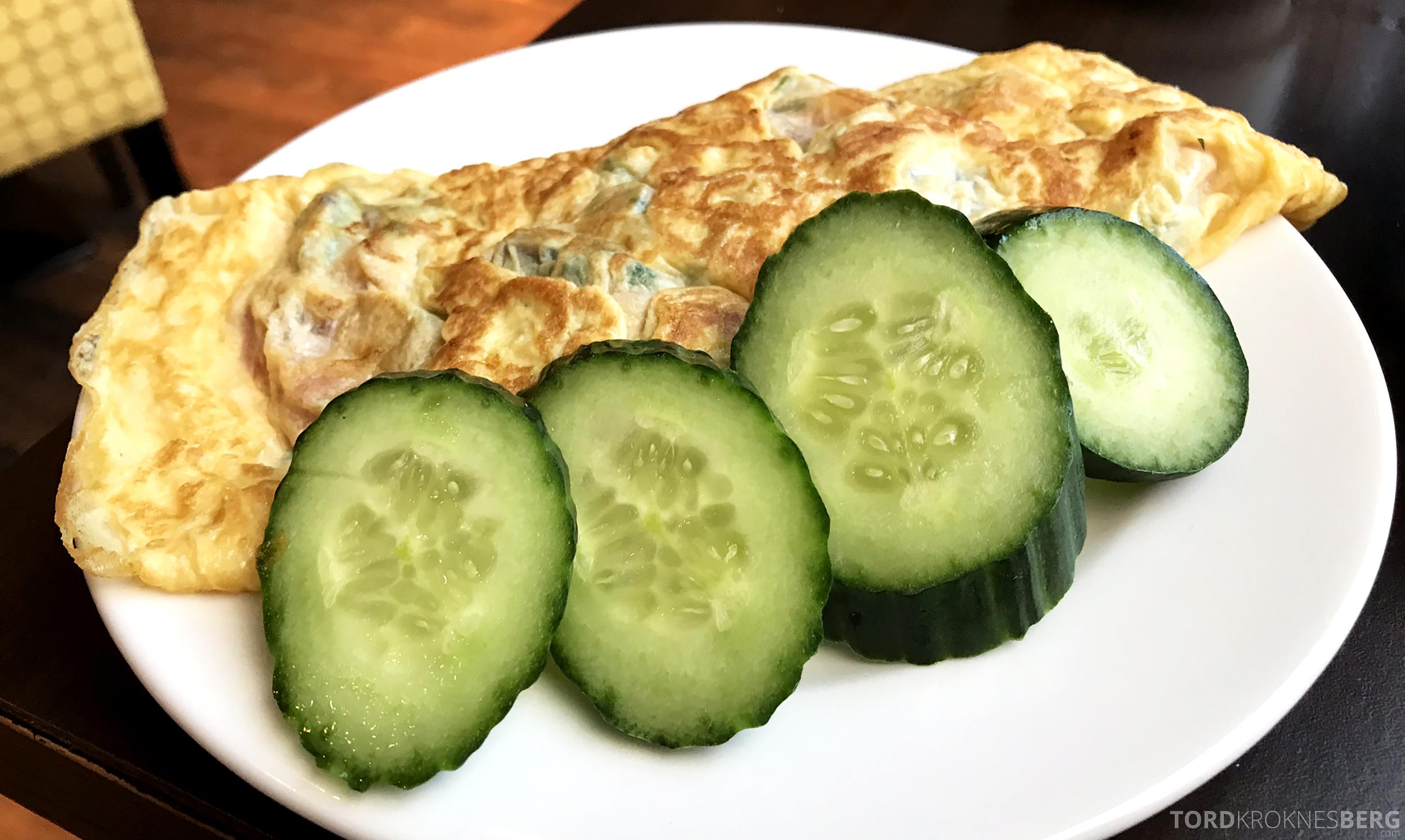 Marriott Paris Rive Gauche frokost omelett