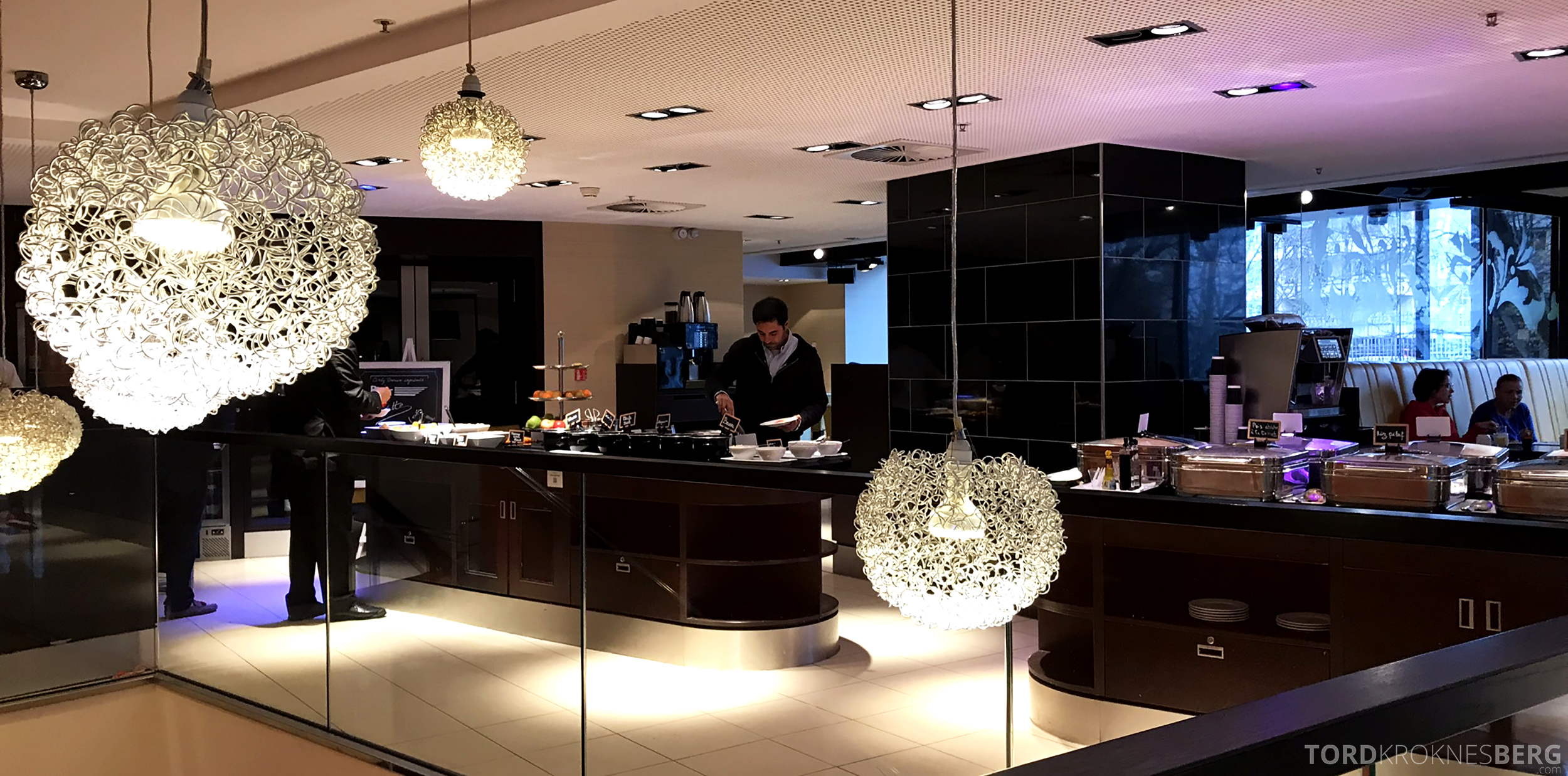 Marriott Paris Rive Gauche frokostbuffet