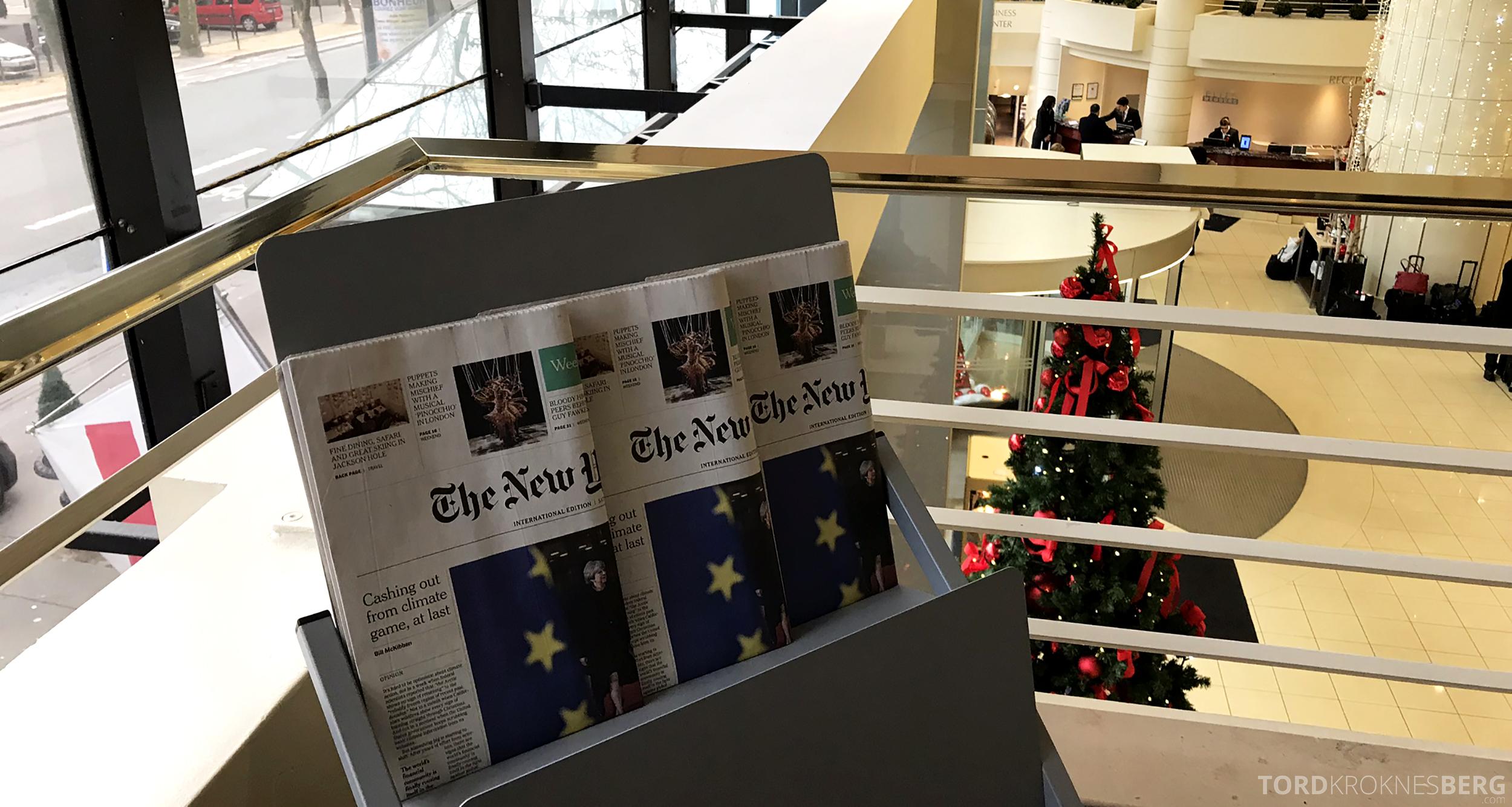 Marriott Paris Rive Gauche frokost aviser