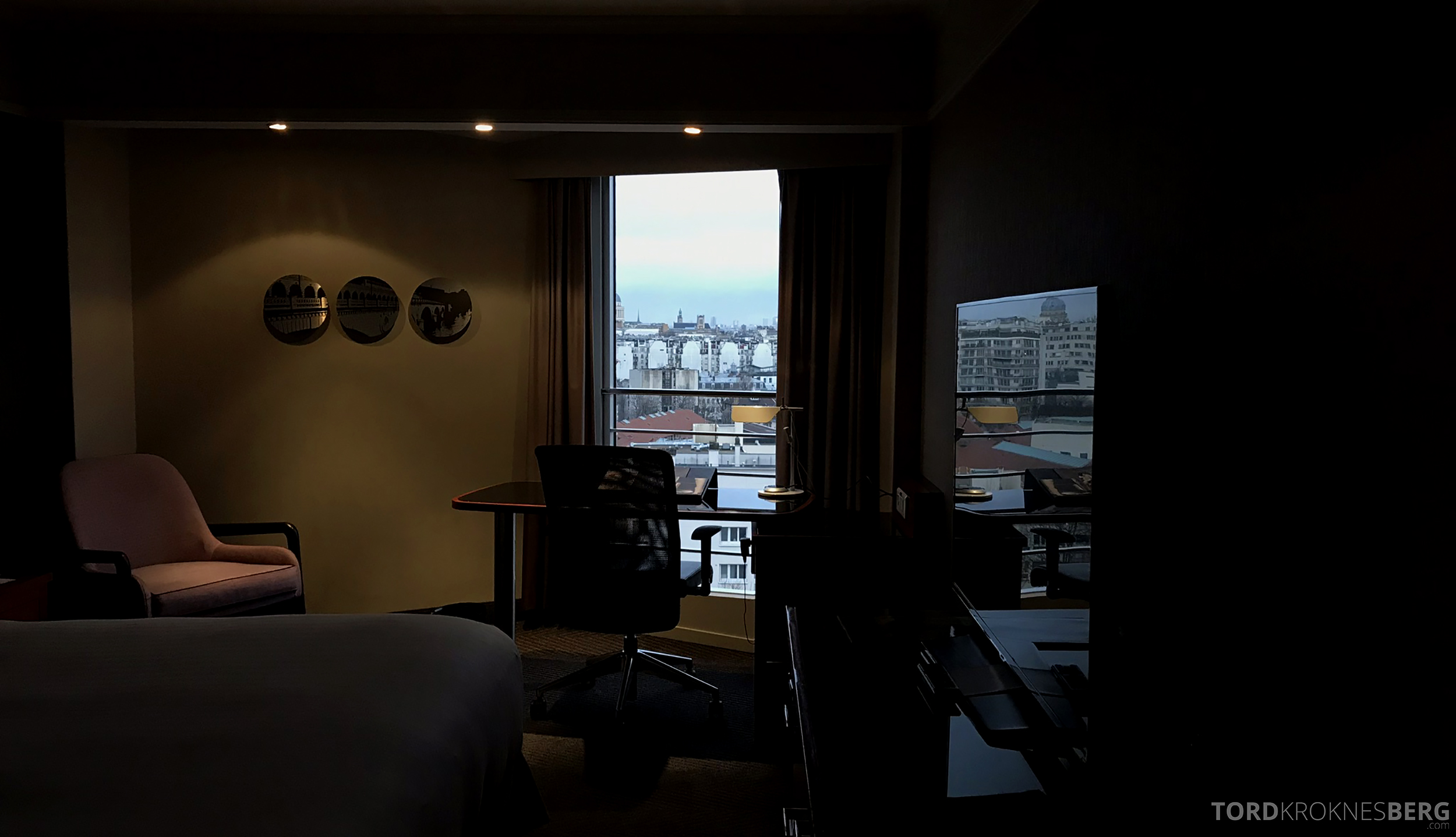 Marriott Paris Rive Gauche prestige room