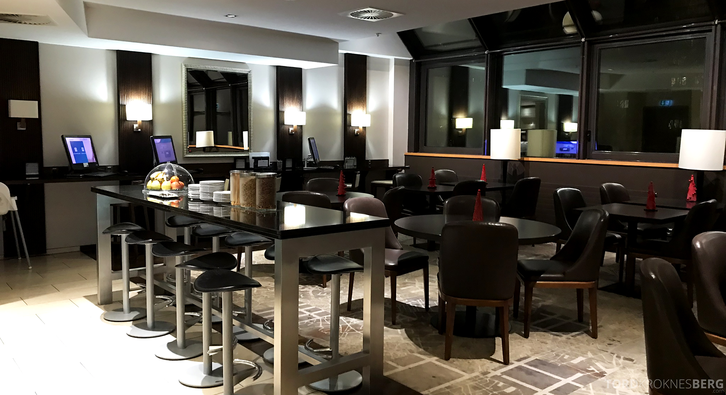 Marriott Paris Rive Gauche Executive Lounge oversikt